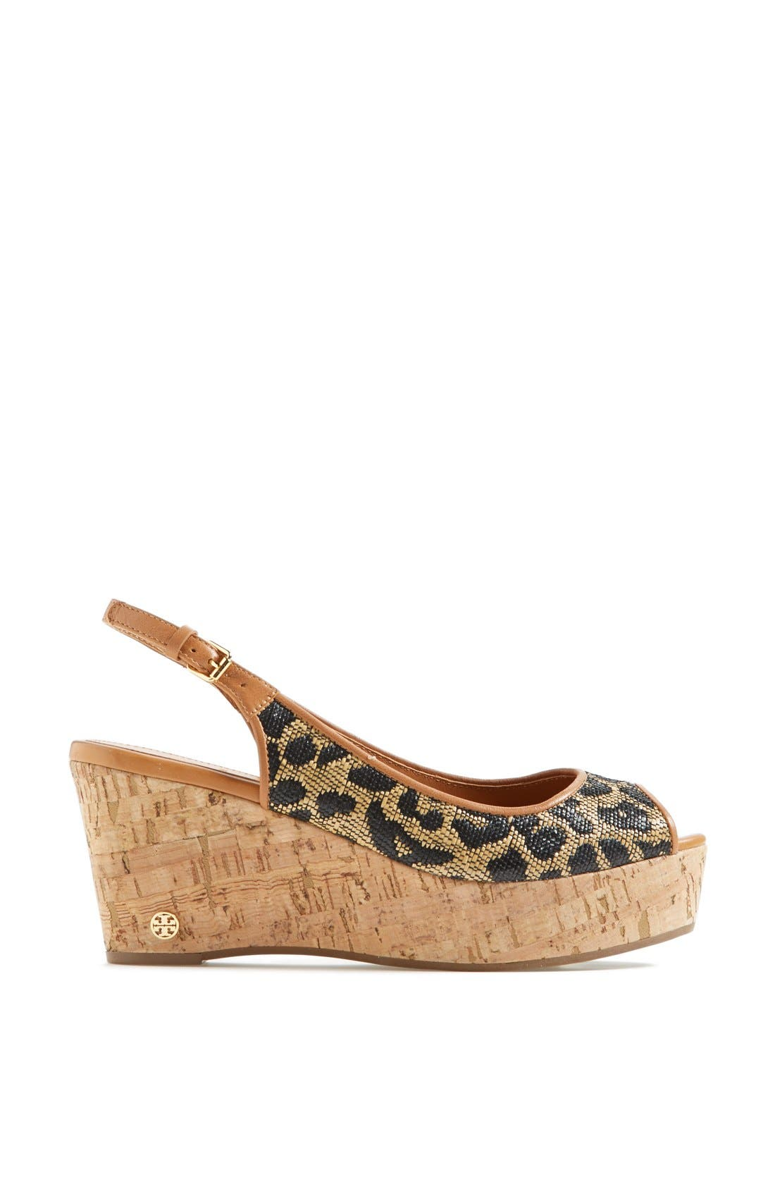 Alternate Image 4  - Tory Burch 'Rosalind' Wedge Sandal (Online Only)