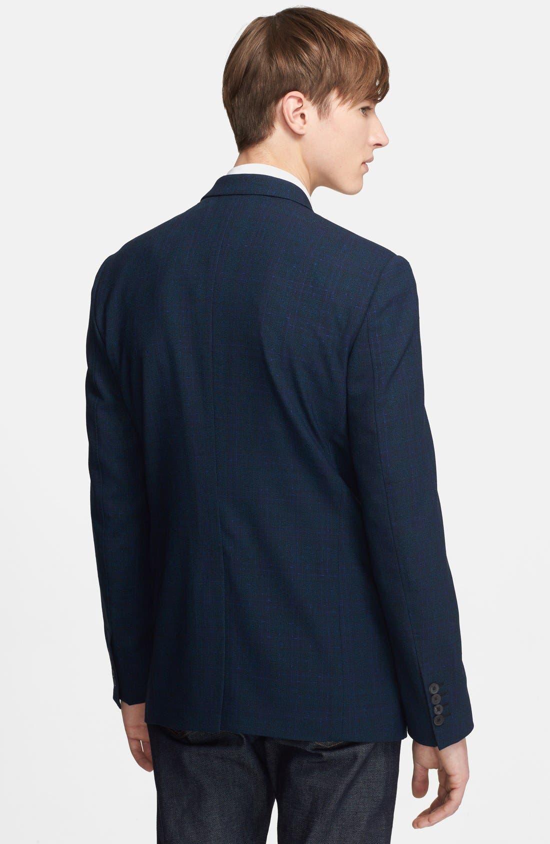 Alternate Image 2  - Paul Smith London 'Byard Tex' Plaid Wool Sportcoat