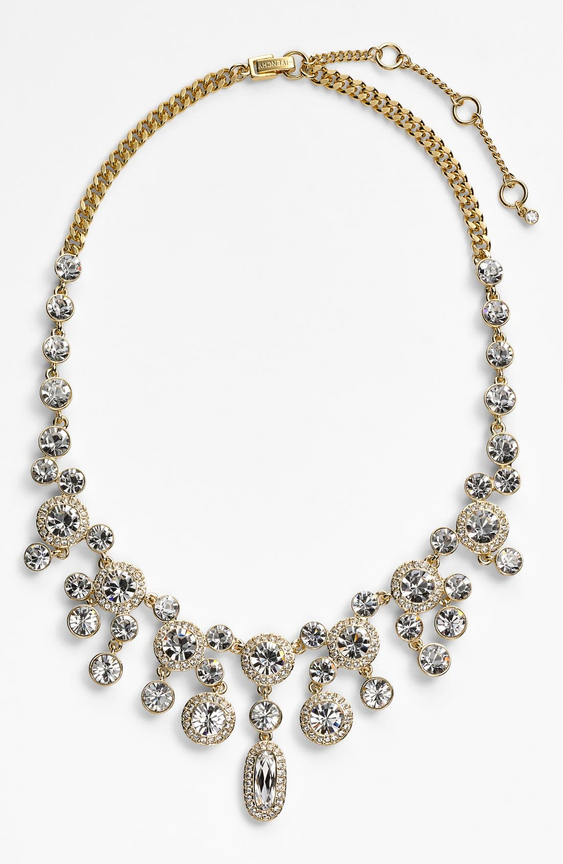 Alternate Image 1 Selected - Givenchy Crystal Bib Necklace