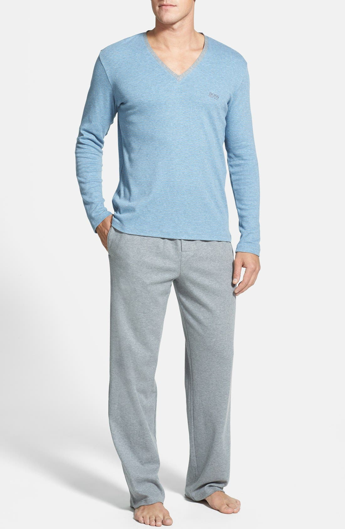Main Image - BOSS HUGO BOSS 'Innovation 4' Pajama Set