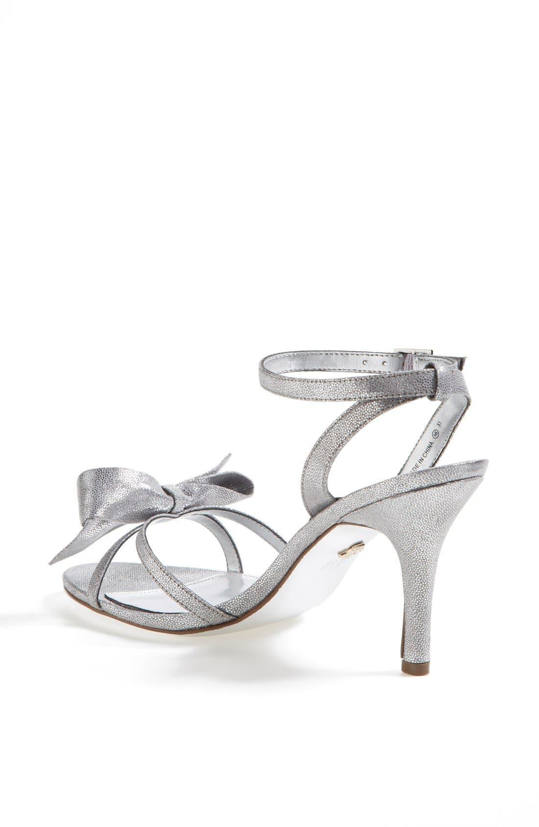 Alternate Image 2  - Nina 'Vianna' Satin Bow Sandal