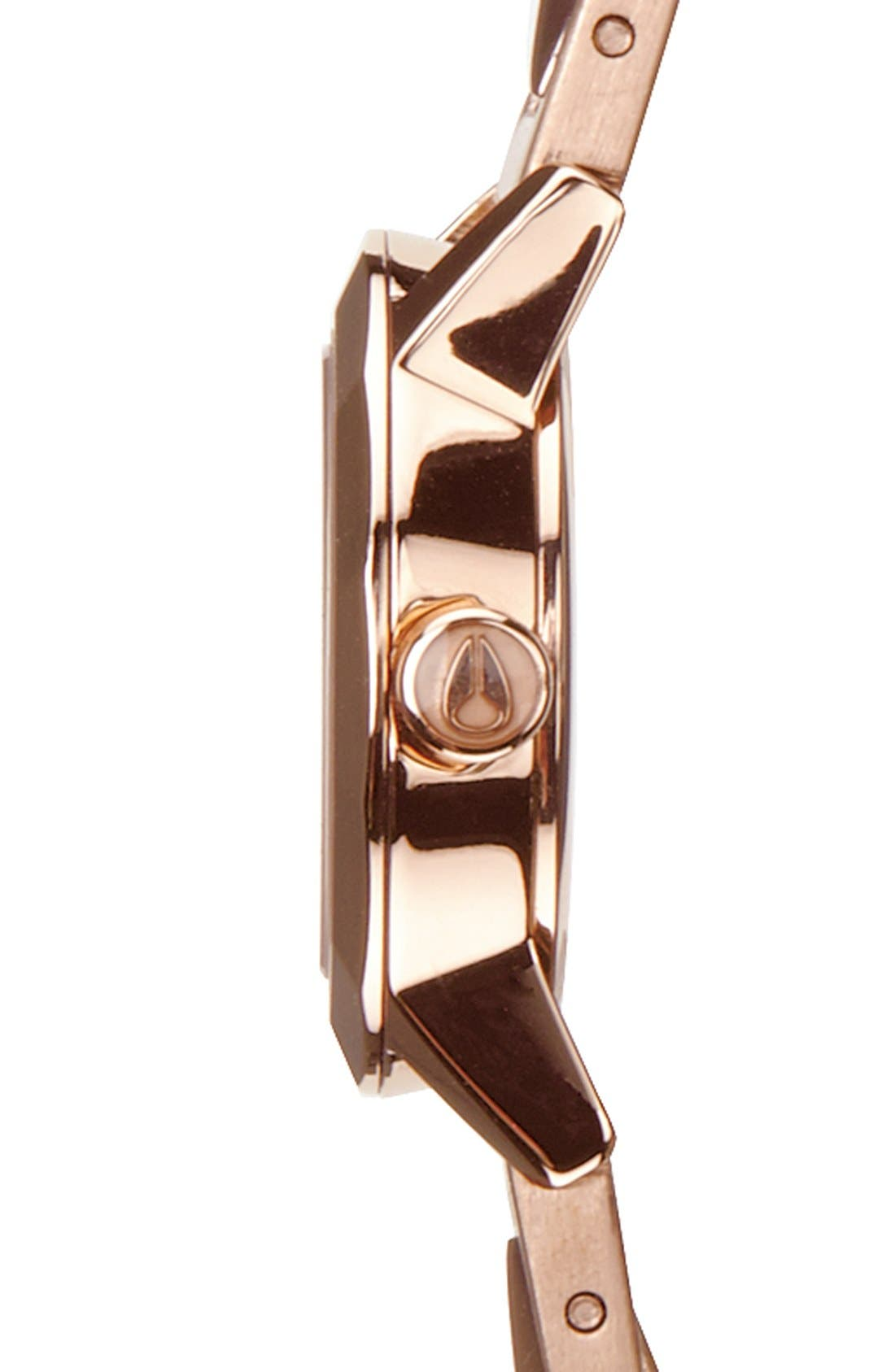 Alternate Image 3  - Nixon 'The Mini B' Bracelet Watch, 22mm