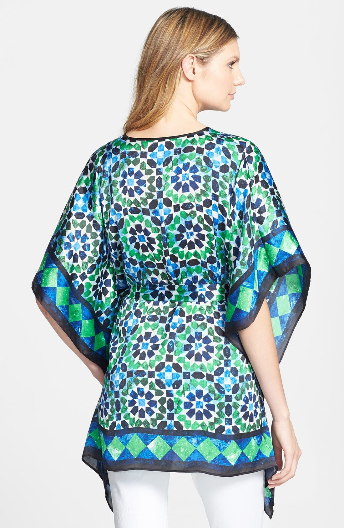 Alternate Image 2  - MICHAEL Michael Kors Print Belted Kimono Tunic