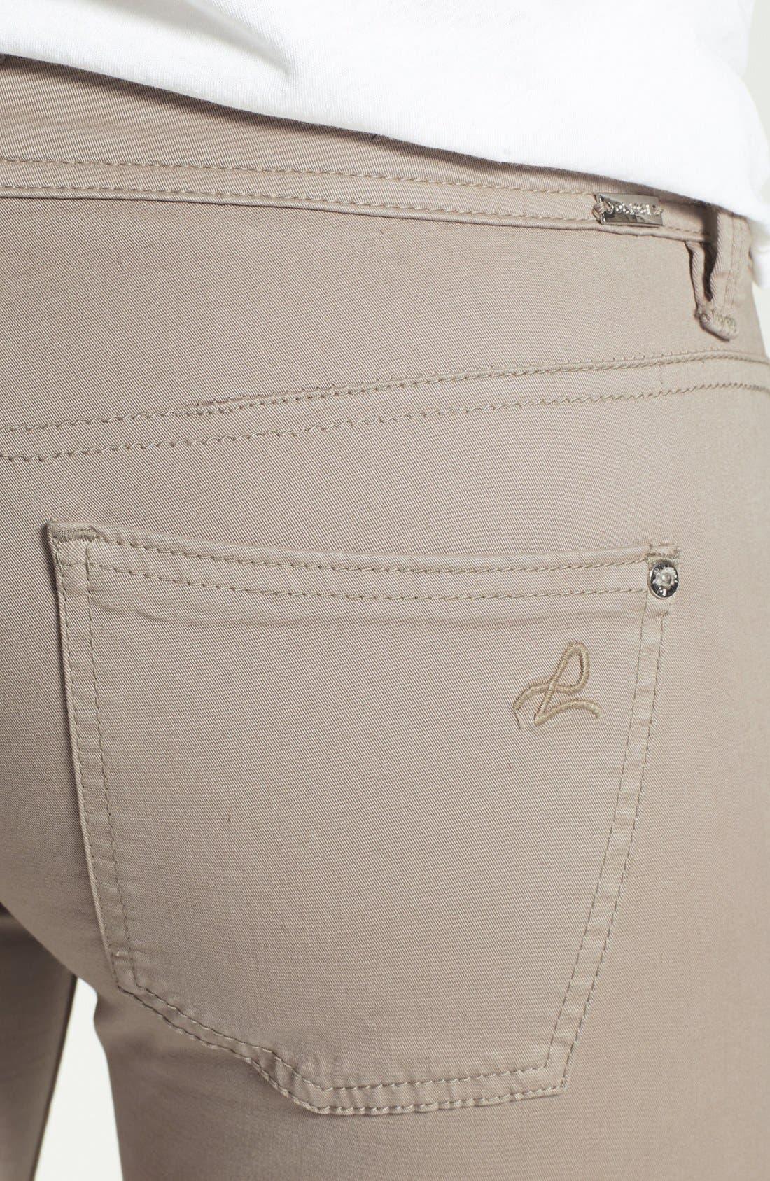 Alternate Image 3  - DL1961 'Harlow' Moto Crop Skinny Jeans (Morton)