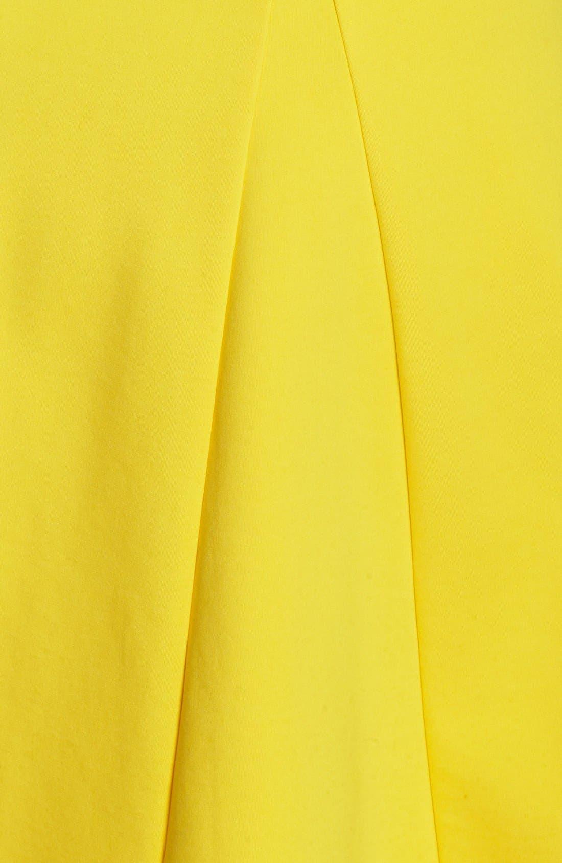 Alternate Image 3  - ABS by Allen Schwartz Sleeveless Fit & Flare Dress (Plus Size)