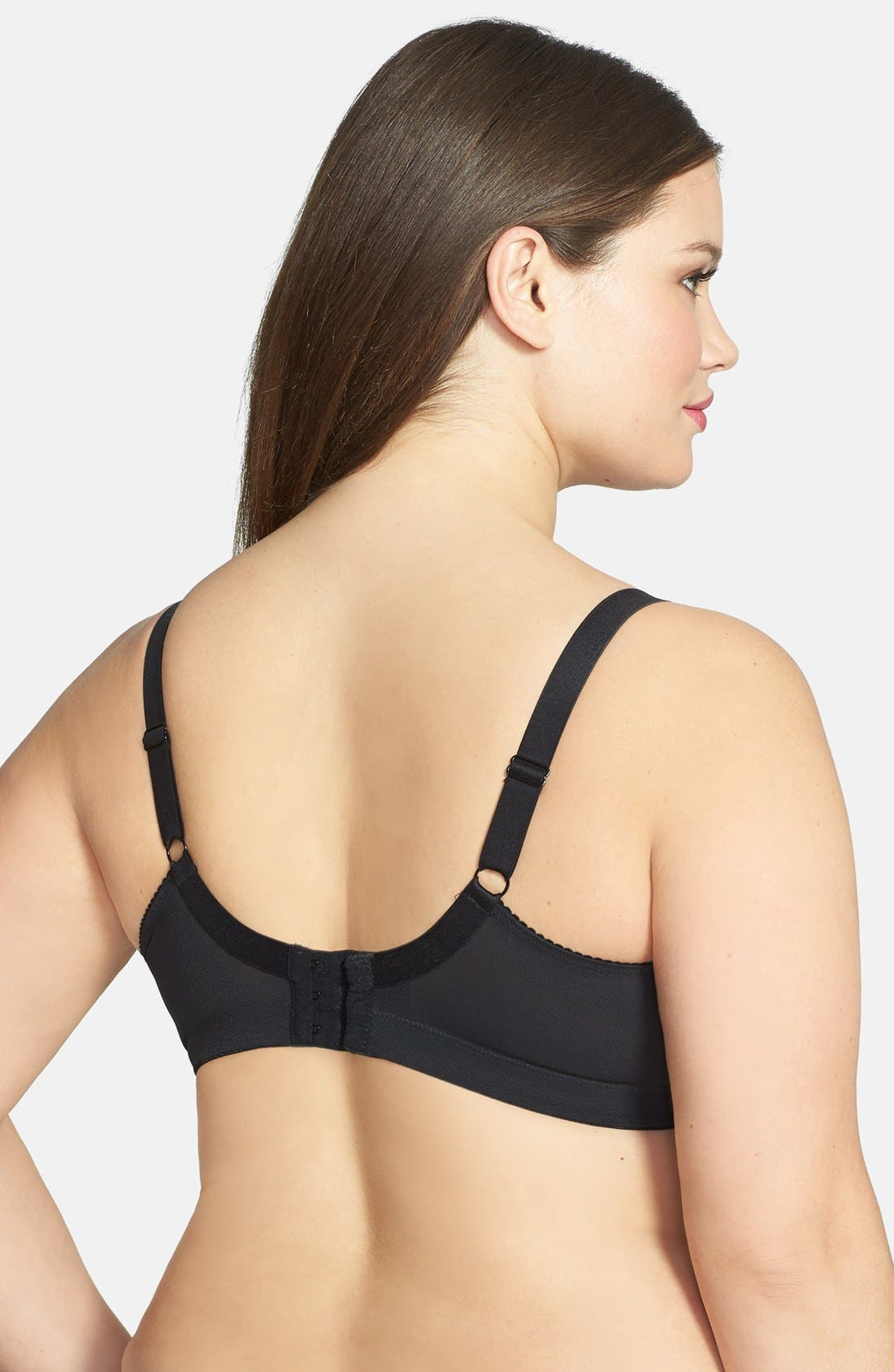 Alternate Image 3  - Elomi Soft Cup Nursing Bra  (Plus Size)