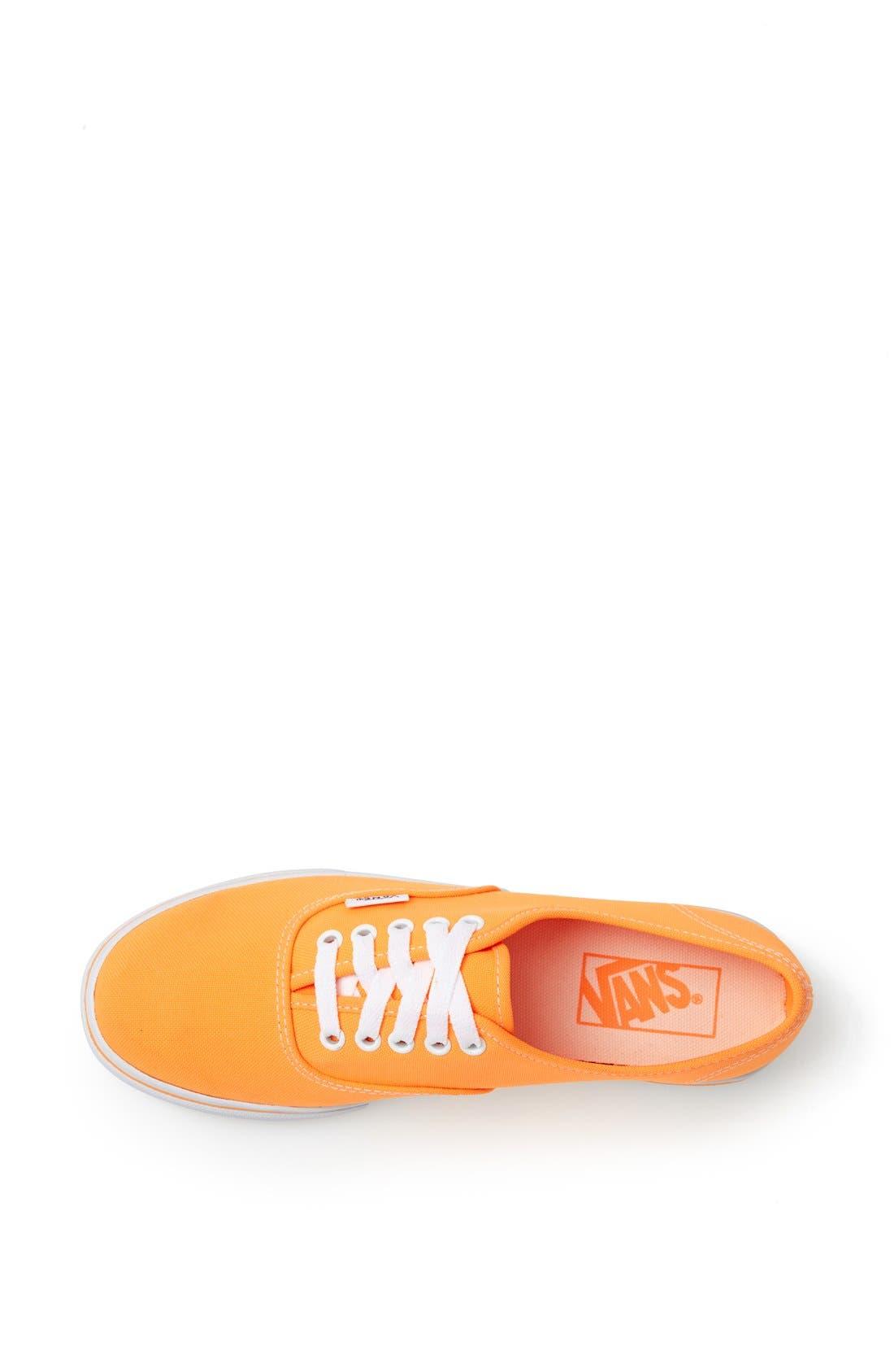 Alternate Image 3  - Vans 'Authentic Lo Pro - Neon' Sneaker (Women)