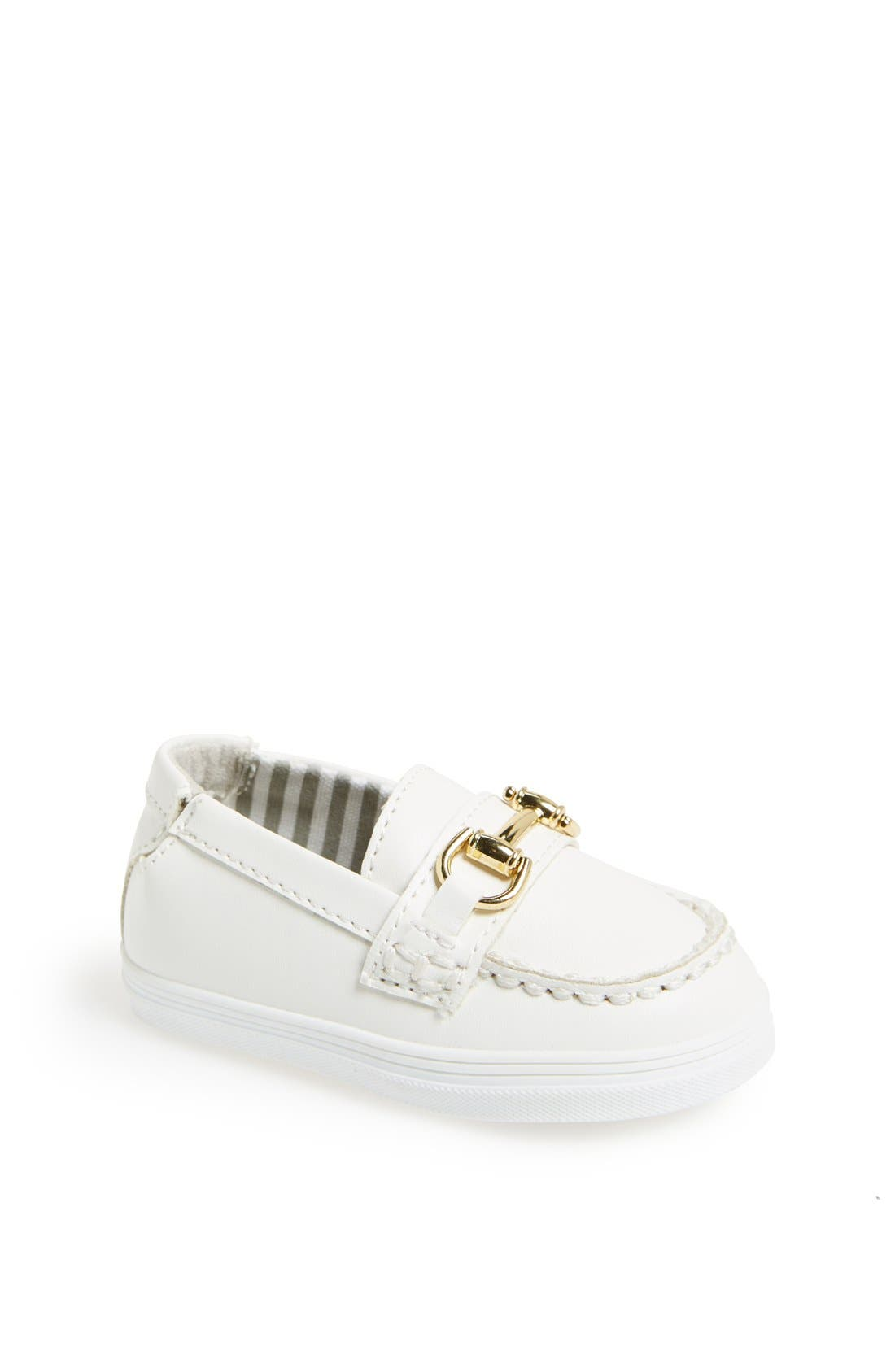 Alternate Image 1 Selected - Cole Haan 'Mini Cory' Slip-On (Baby)