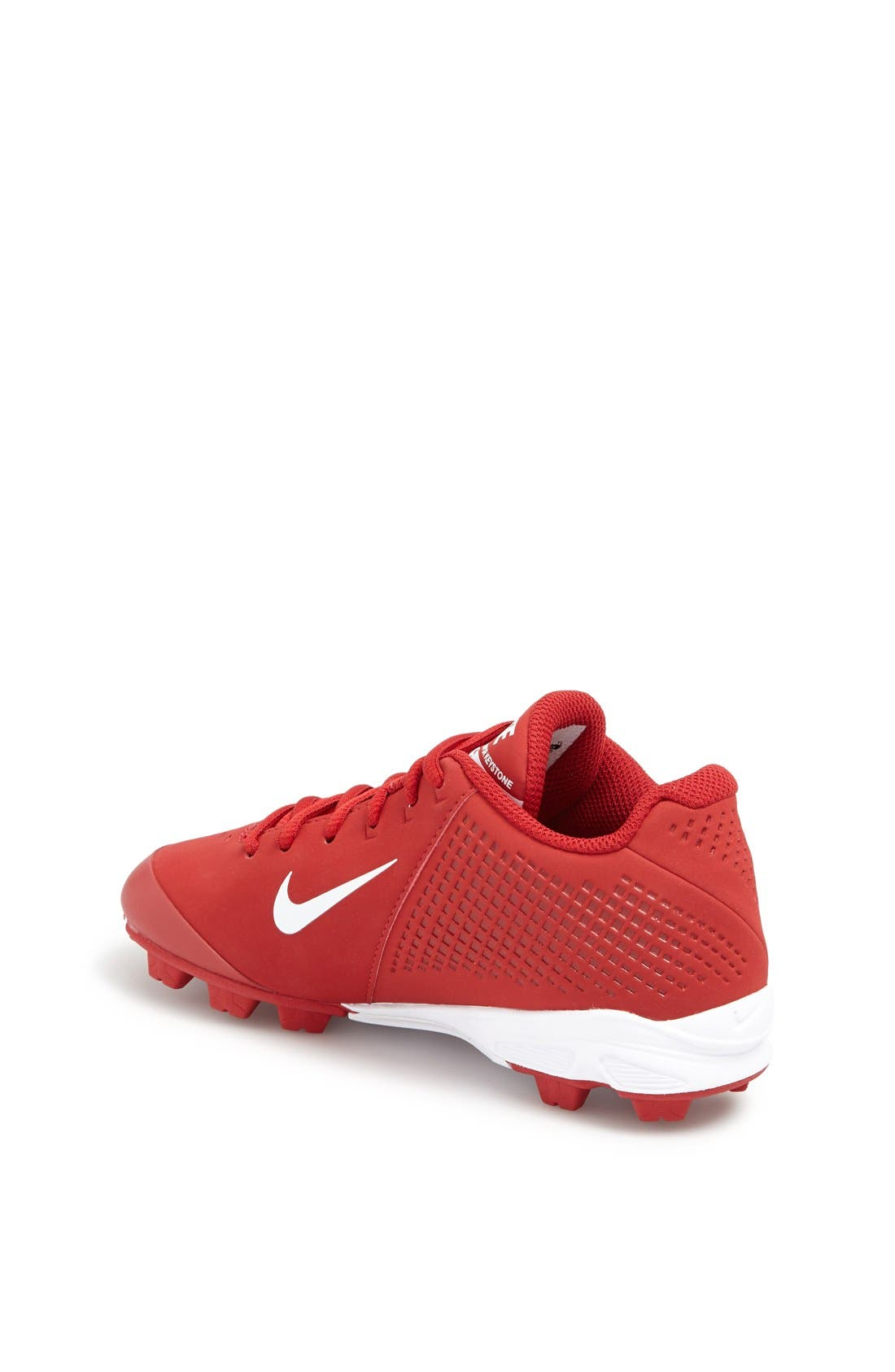 Alternate Image 2  - Nike 'Vapor Keystone Low' Baseball Cleat  (Little Kid & Big Kid)