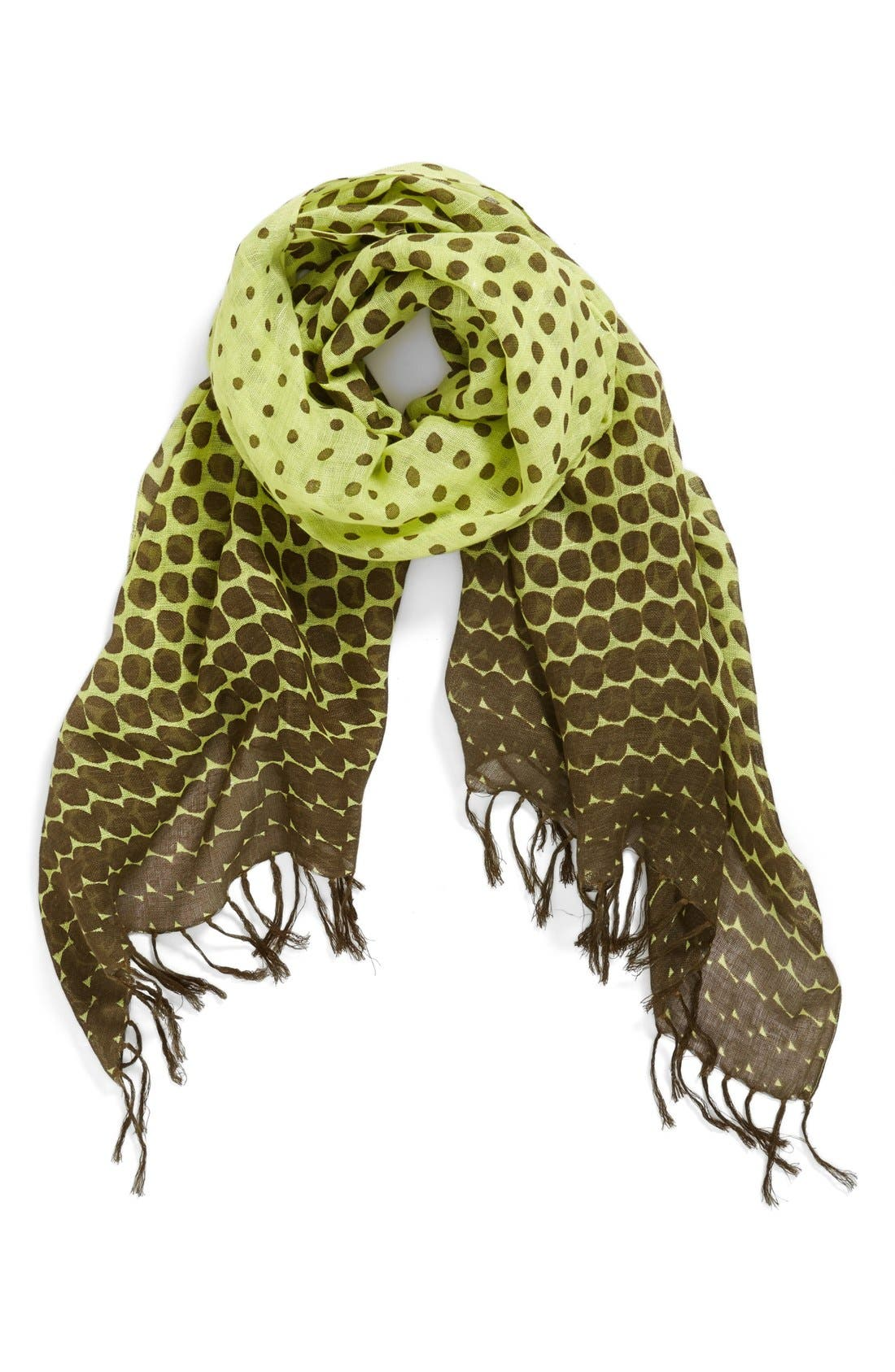 Alternate Image 1 Selected - Halogen® 'Nautical Dot' Scarf