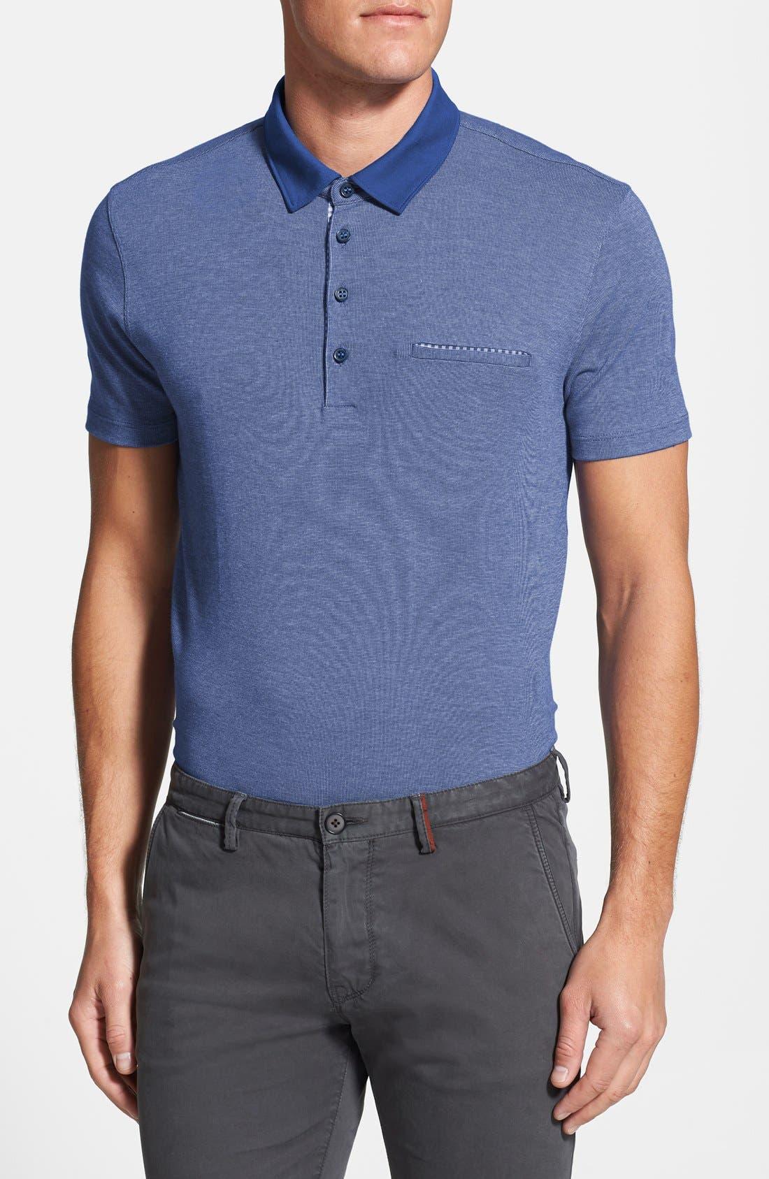 Alternate Image 1 Selected - BOSS HUGO BOSS 'Fontana' Polo Shirt