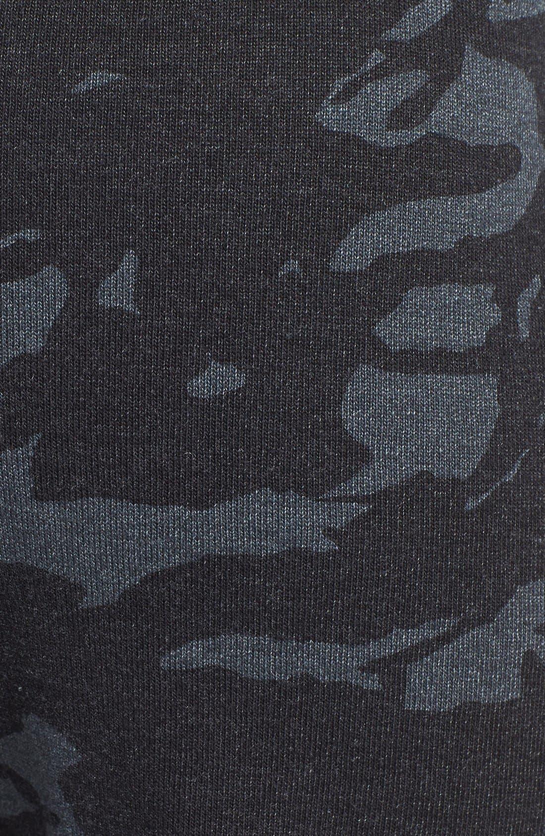Alternate Image 3  - Monrow Camo Print Vintage Fleece Sweatpants