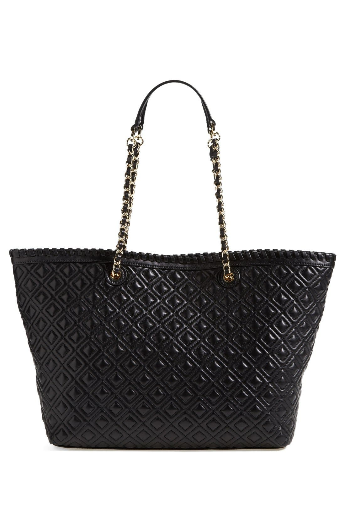 Alternate Image 4  - Tory Burch 'Small Marion' Leather Tote