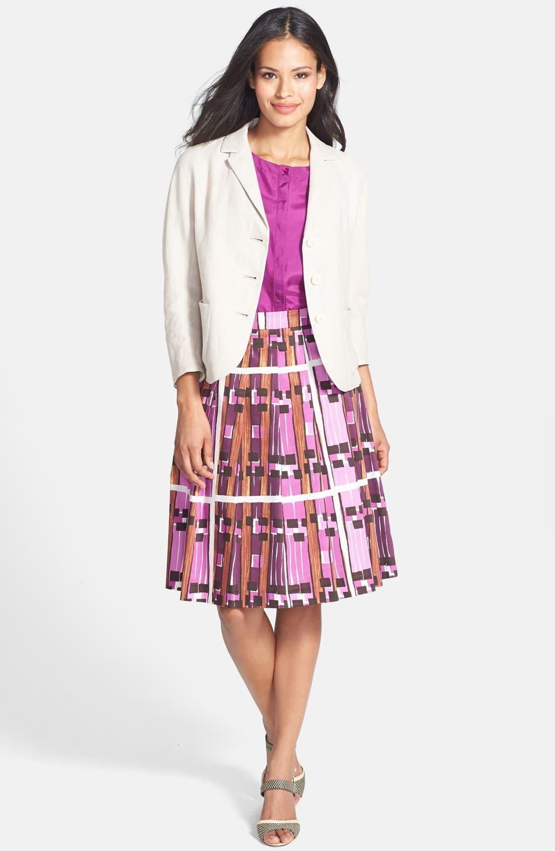 Alternate Image 4  - Weekend Max Mara 'Borgia' Print Skirt