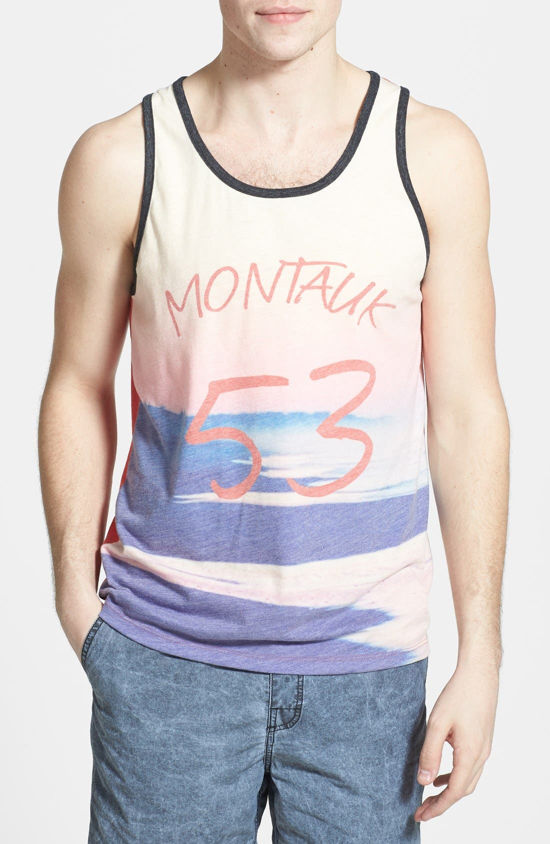 Alternate Image 1 Selected - Threads For Thought 'Montauk' Graphic Tank Top