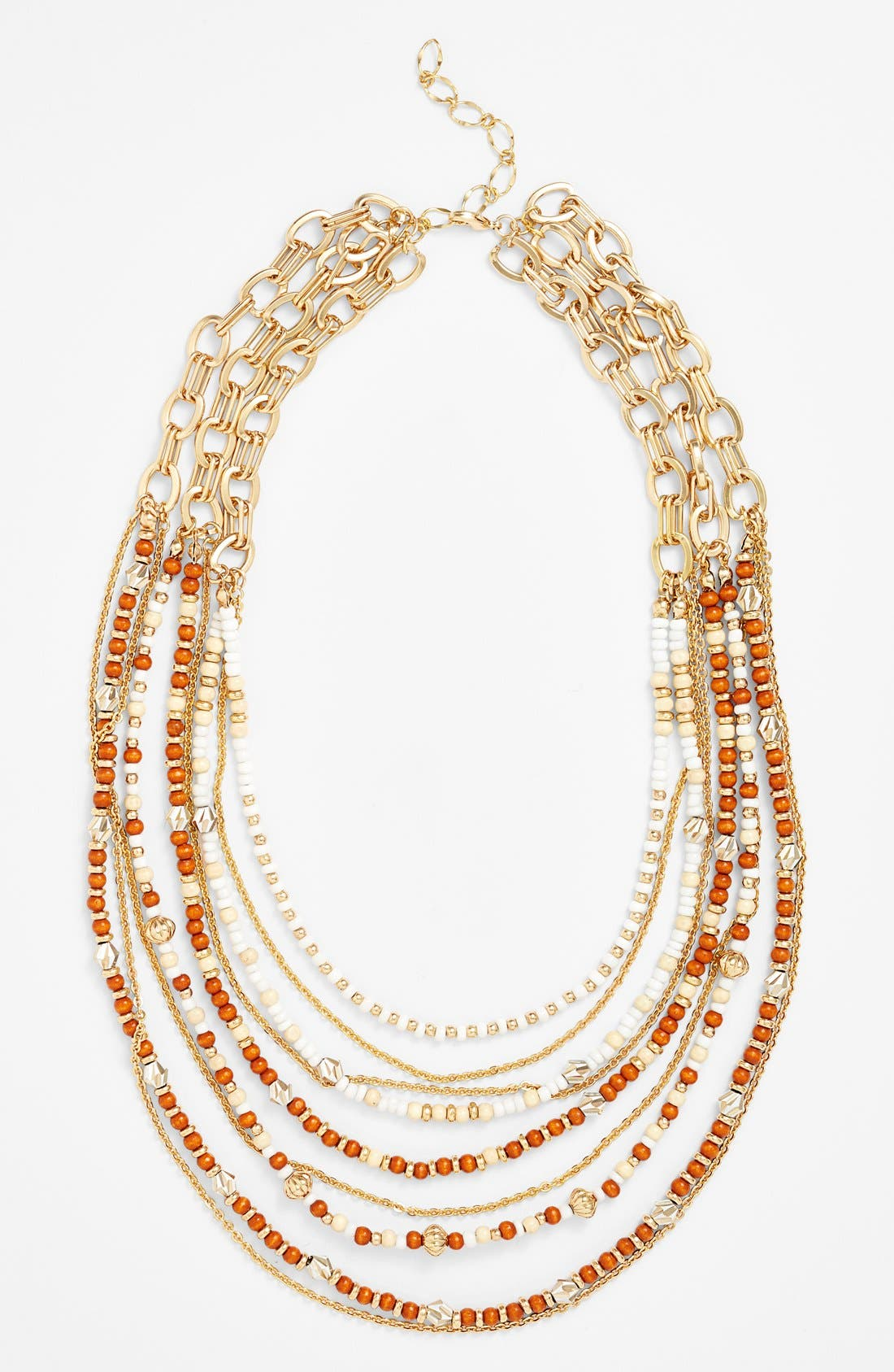 Main Image - Nordstrom 'Safari' Beaded Layered Necklace