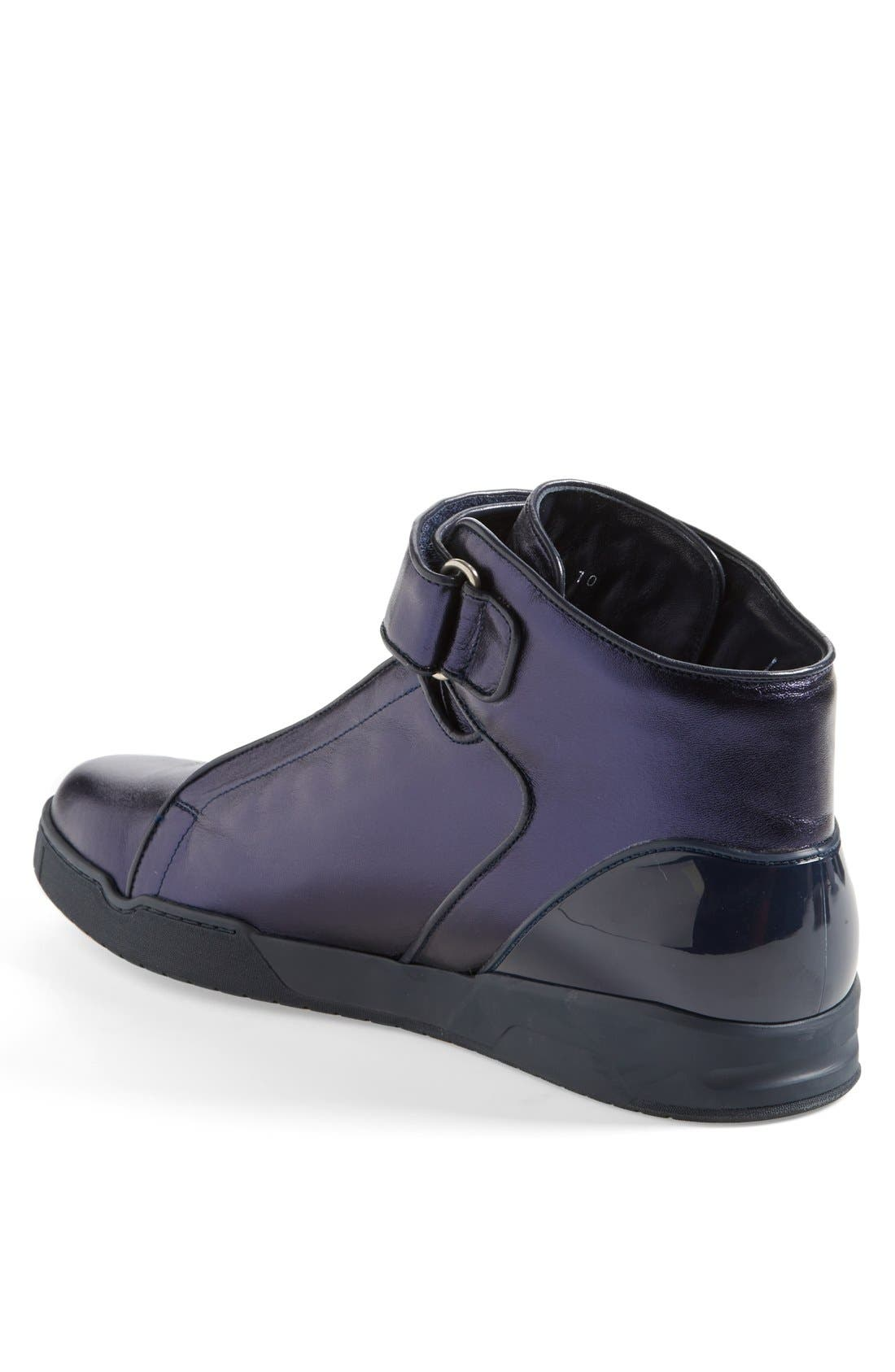 Alternate Image 2  - Gucci 'Mel Mid' Metallic Sneaker
