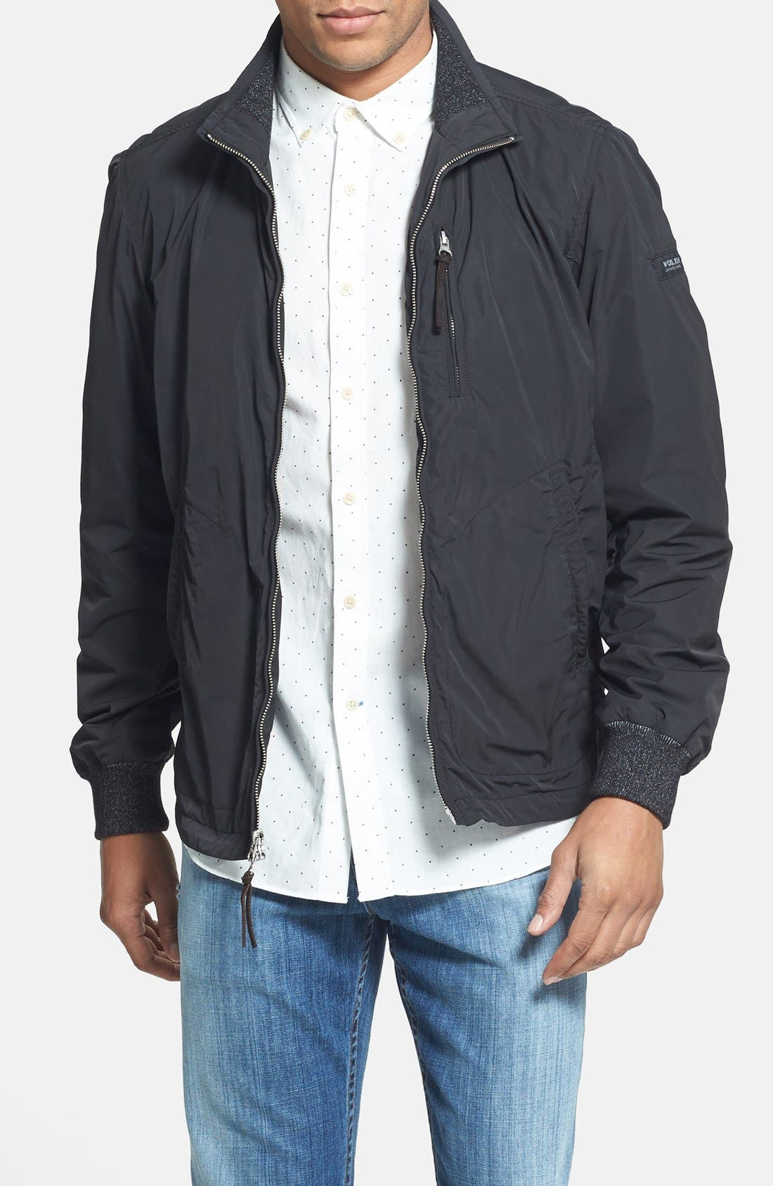Main Image - Woolrich 'Pine' Weather Resistant Moto Jacket