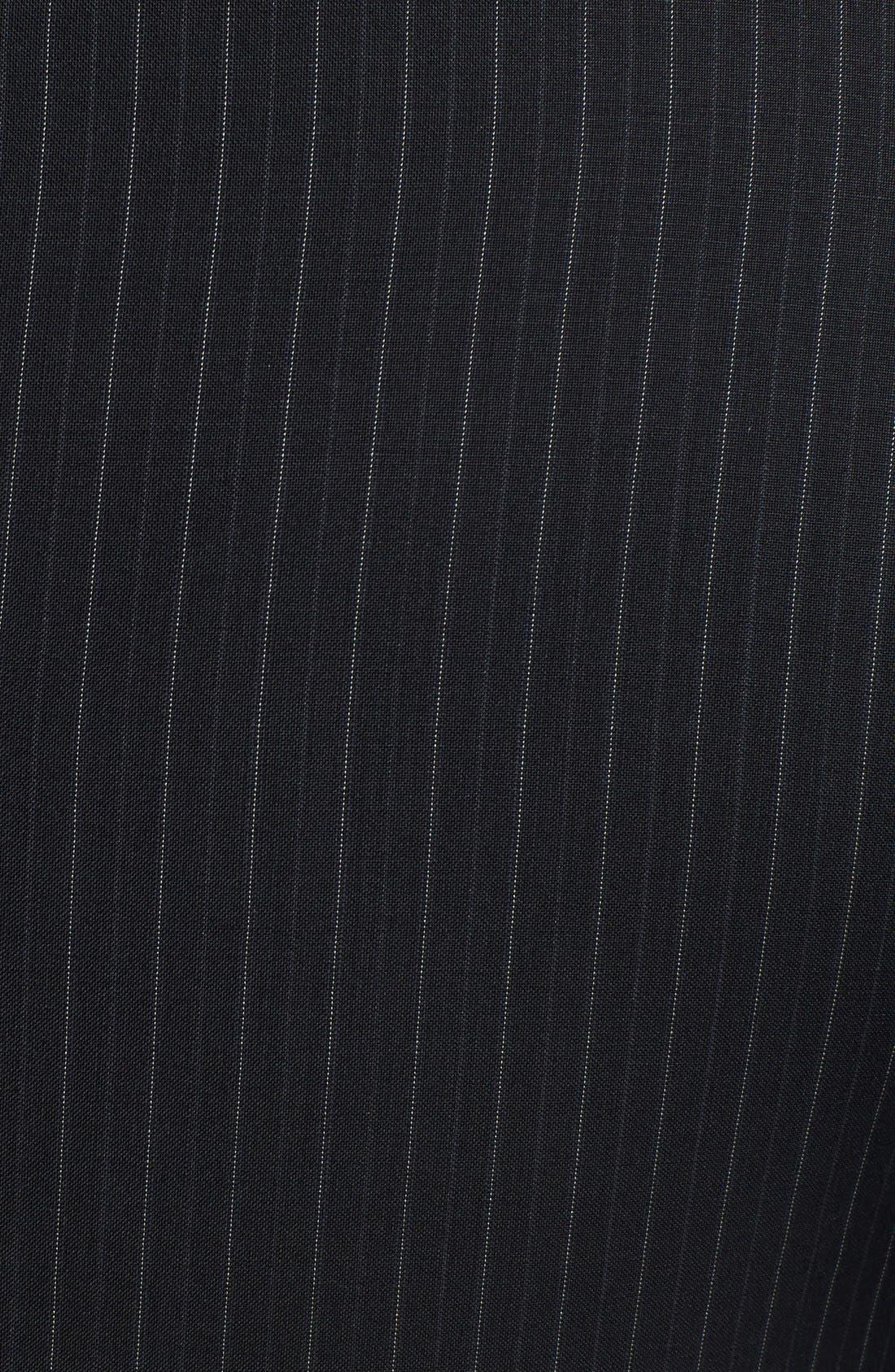 Alternate Image 5  - Dolce&Gabbana 'Martini' Black Stripe Wool Suit