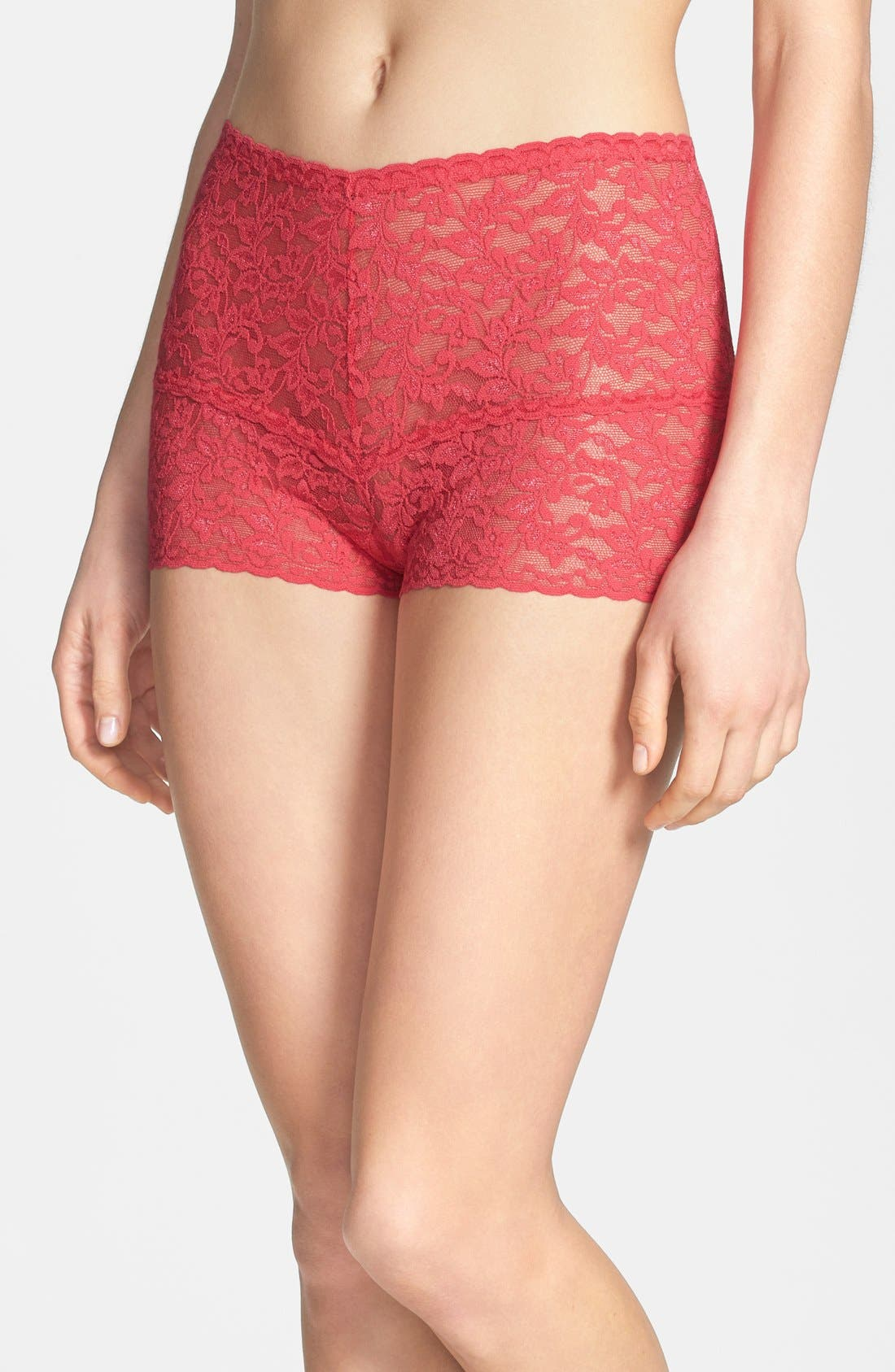 Alternate Image 1 Selected - Hanky Panky Retro Lace Hotpants