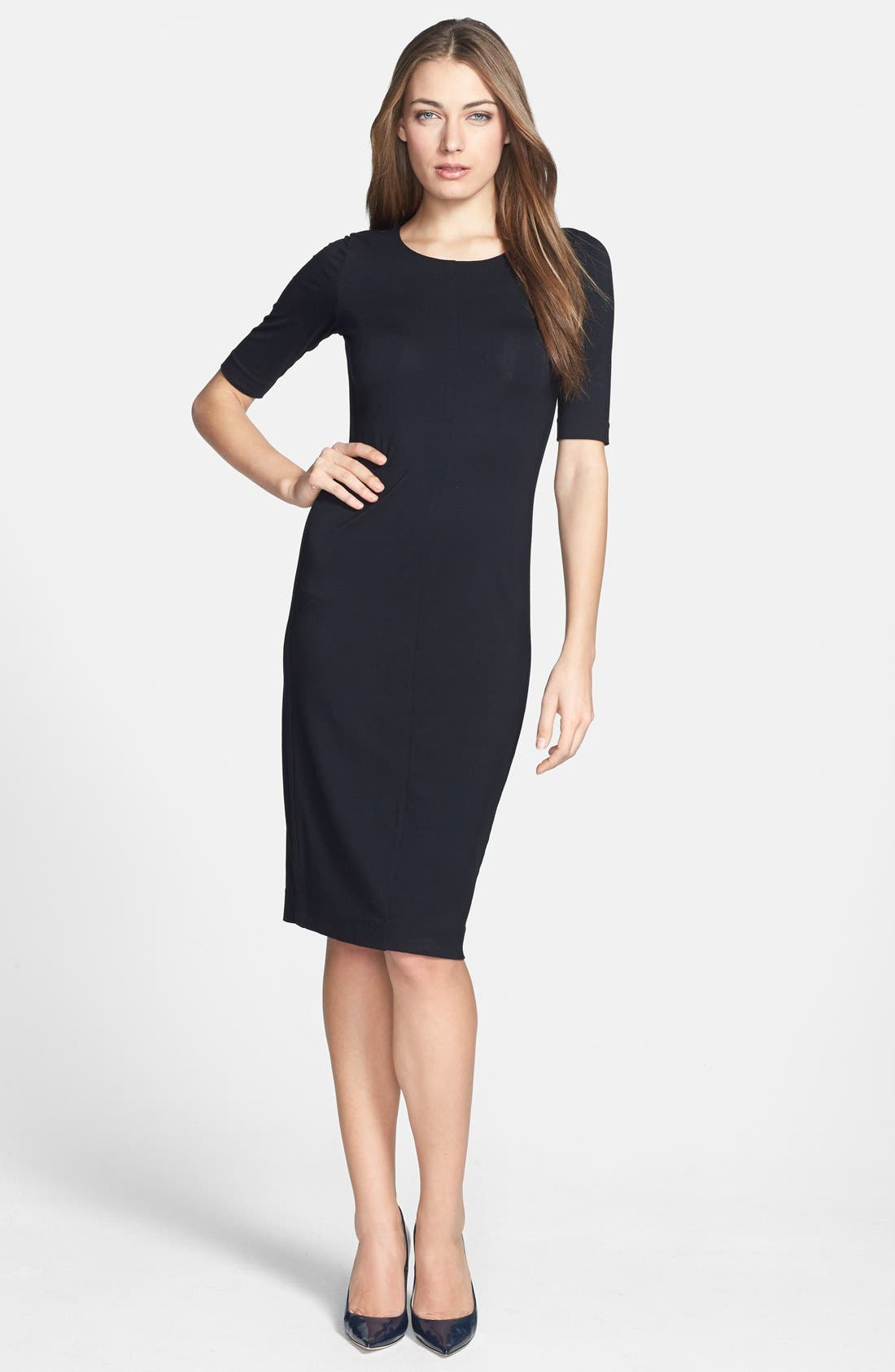 Alternate Image 1 Selected - Diane von Furstenberg 'Raquel' Knit Sheath Dress