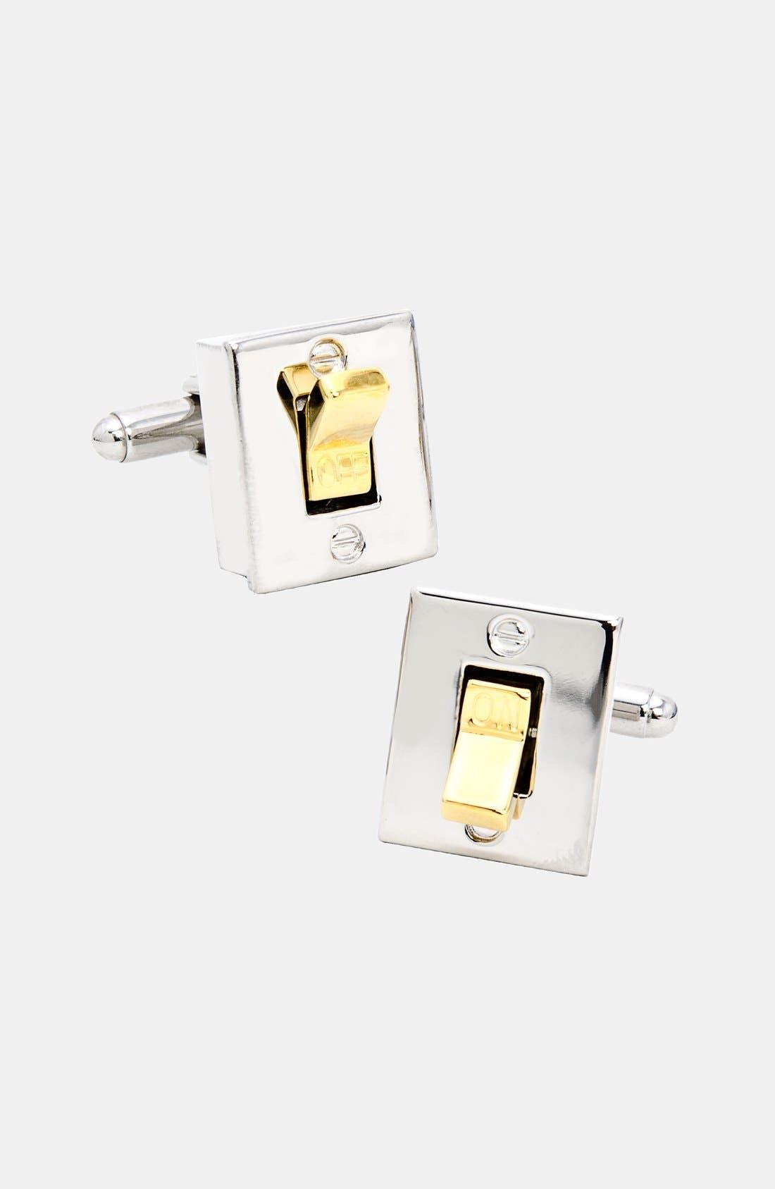 Main Image - Cufflinks, Inc. Light Switch Cuff Links