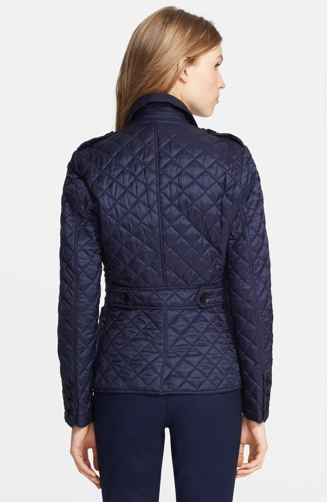 Alternate Image 2  - Burberry Brit 'Caulfield' Quilted Jacket