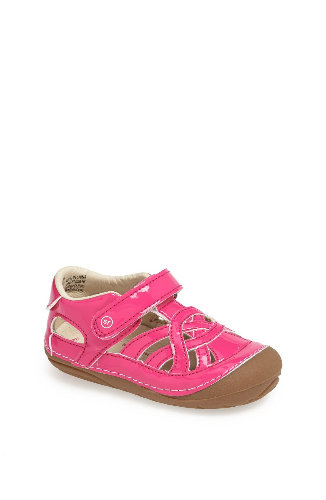 Alternate Image 1 Selected - Stride Rite 'Uma' Slip-On (Baby & Walker)