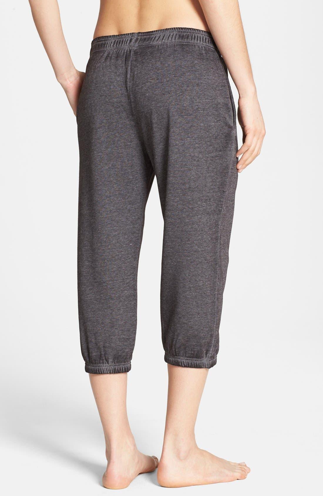 Alternate Image 2  - BP. Undercover 'Gym Class' Crop Sweatpants (Juniors)