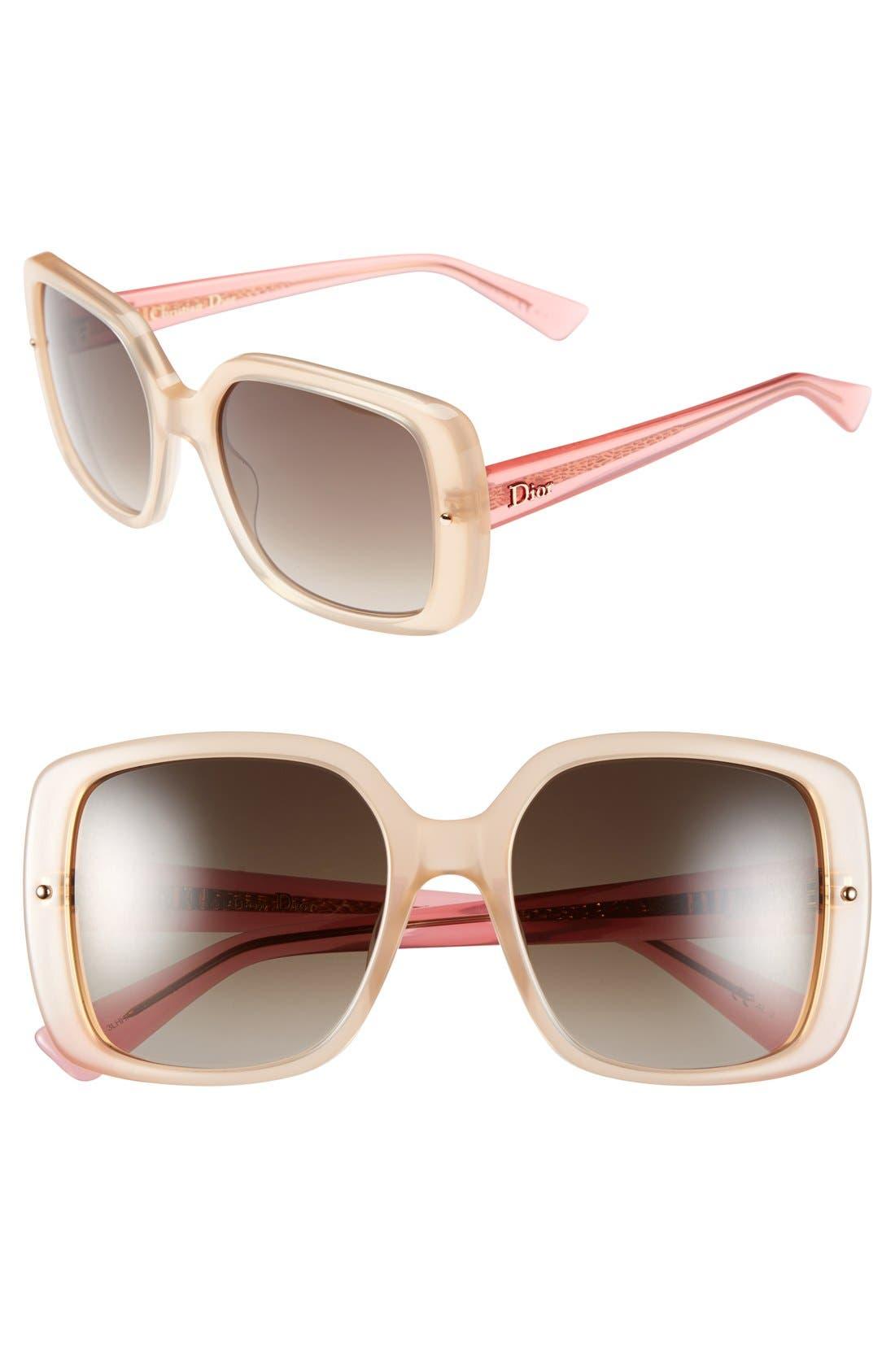 Alternate Image 1 Selected - Dior 'Jupon' 54mm Sunglasses