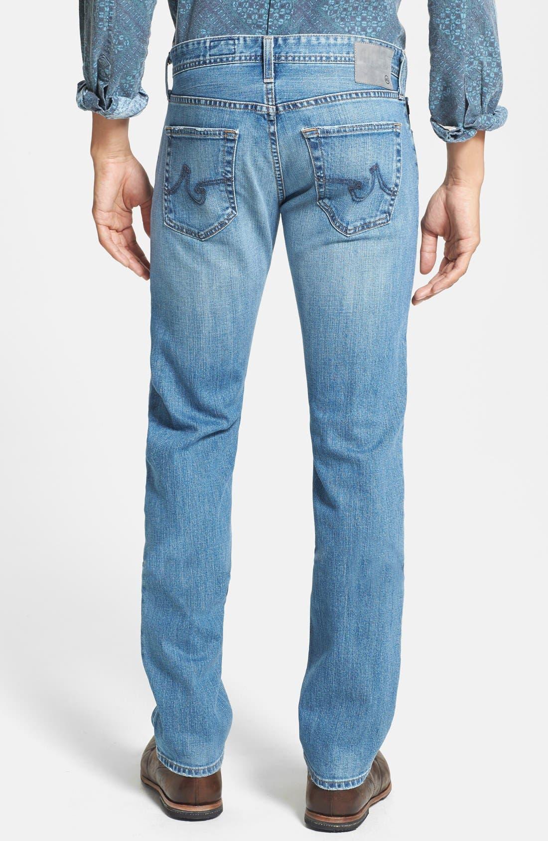 Alternate Image 2  - AG 'Matchbox' Slim Fit Jeans (Swift)