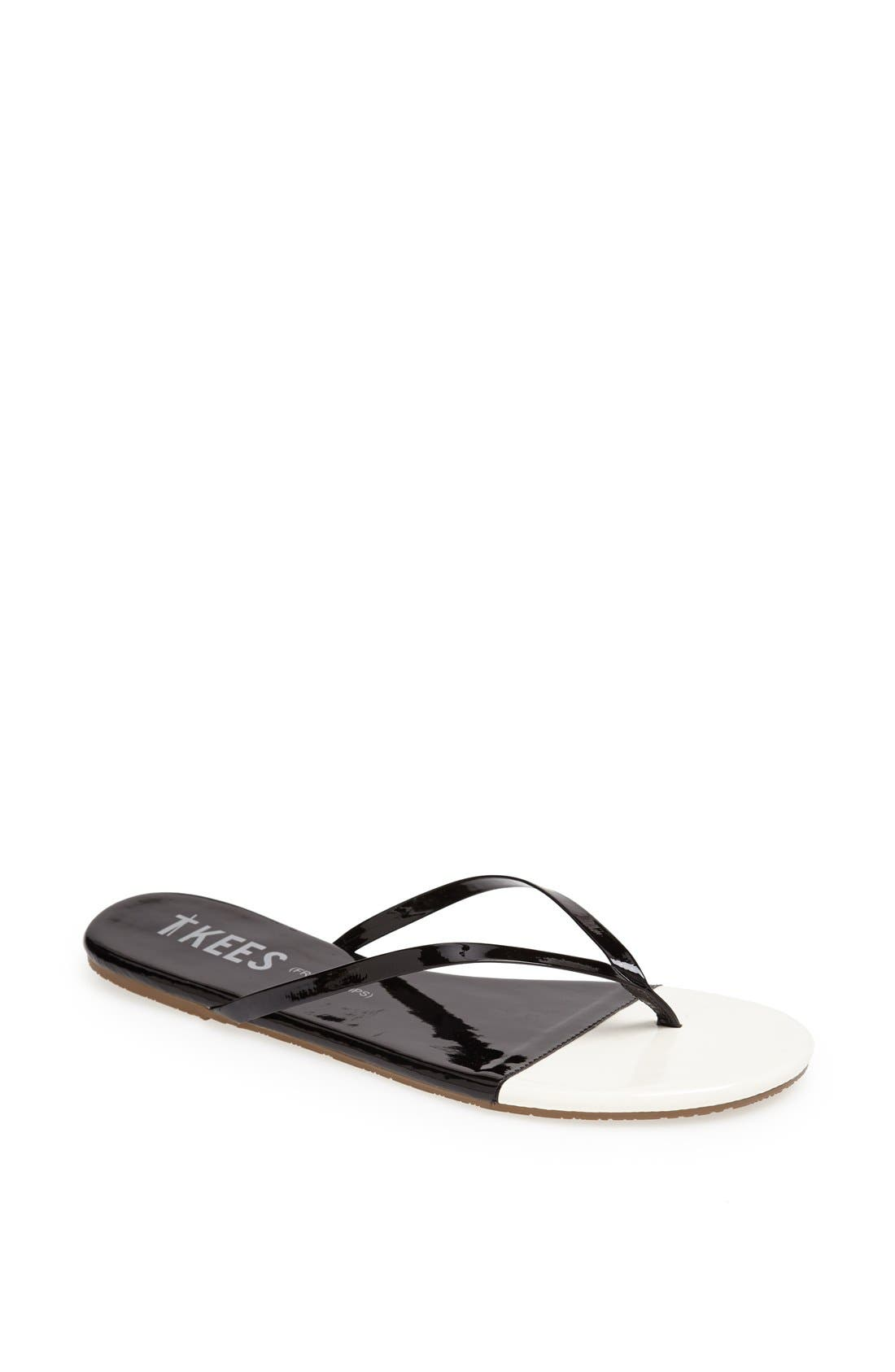 Alternate Image 1 Selected - TKEES 'French Tips' Flip Flop