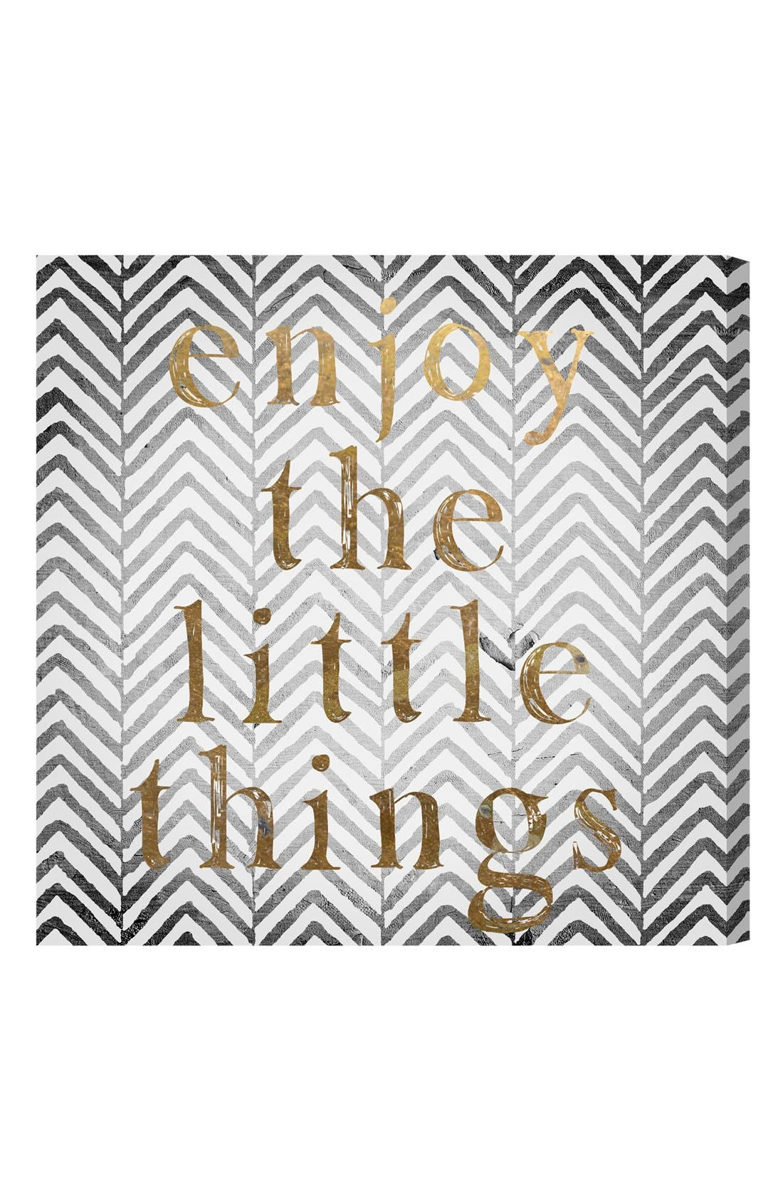 Main Image - Oliver Gal 'Enjoy the Little Things' Wall Art