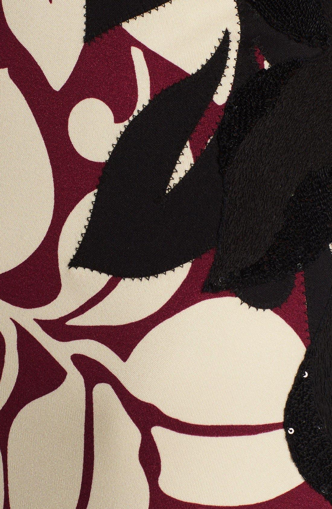 Alternate Image 3  - MARC JACOBS Embellished Print Gown