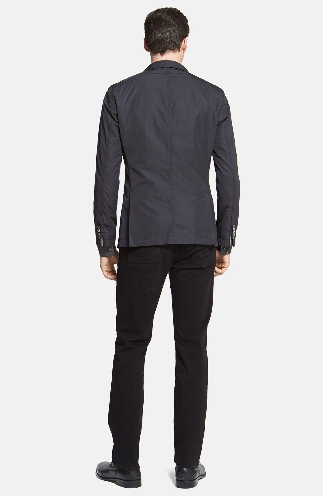 Alternate Image 5  - HUGO 'Ero' Slim Fit Camo Print Sport Shirt