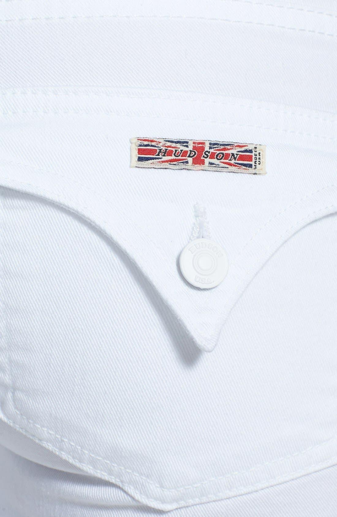 Alternate Image 3  - Hudson Jeans 'Ferris' Flared Jeans (White)