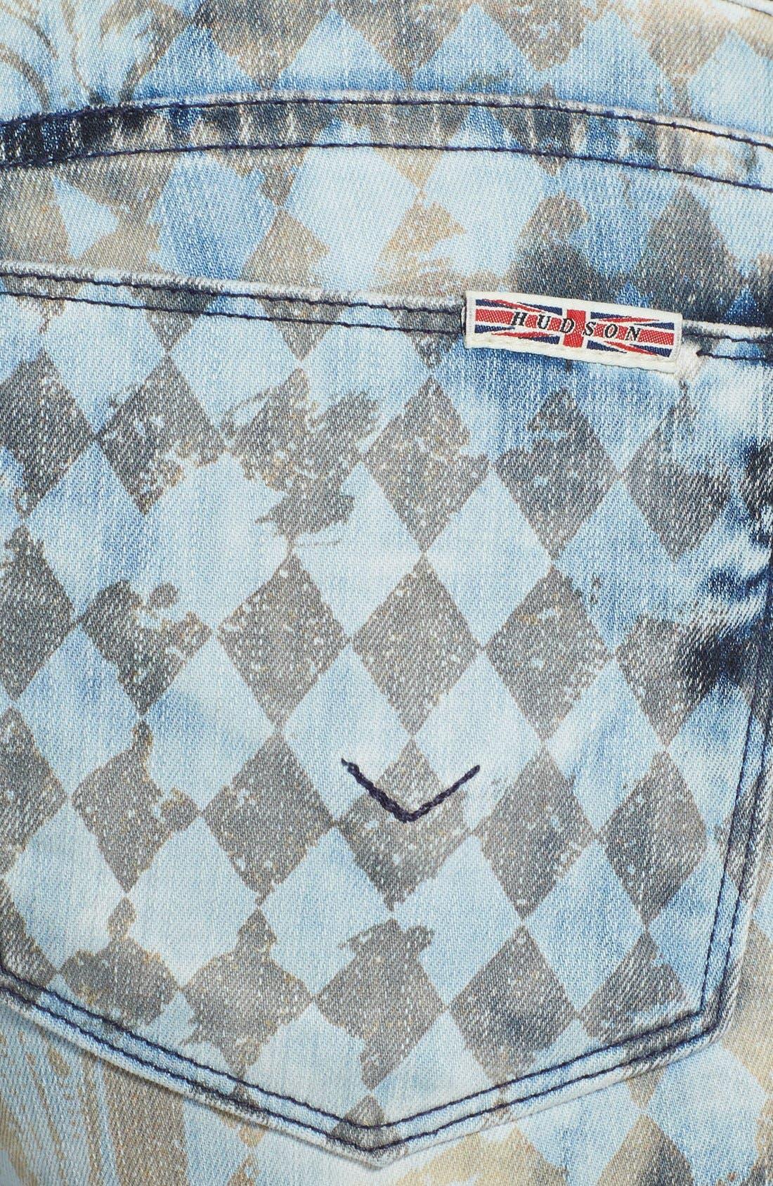 Alternate Image 3  - Hudson Jeans 'Krista' Super Skinny Jeans (Treasure)