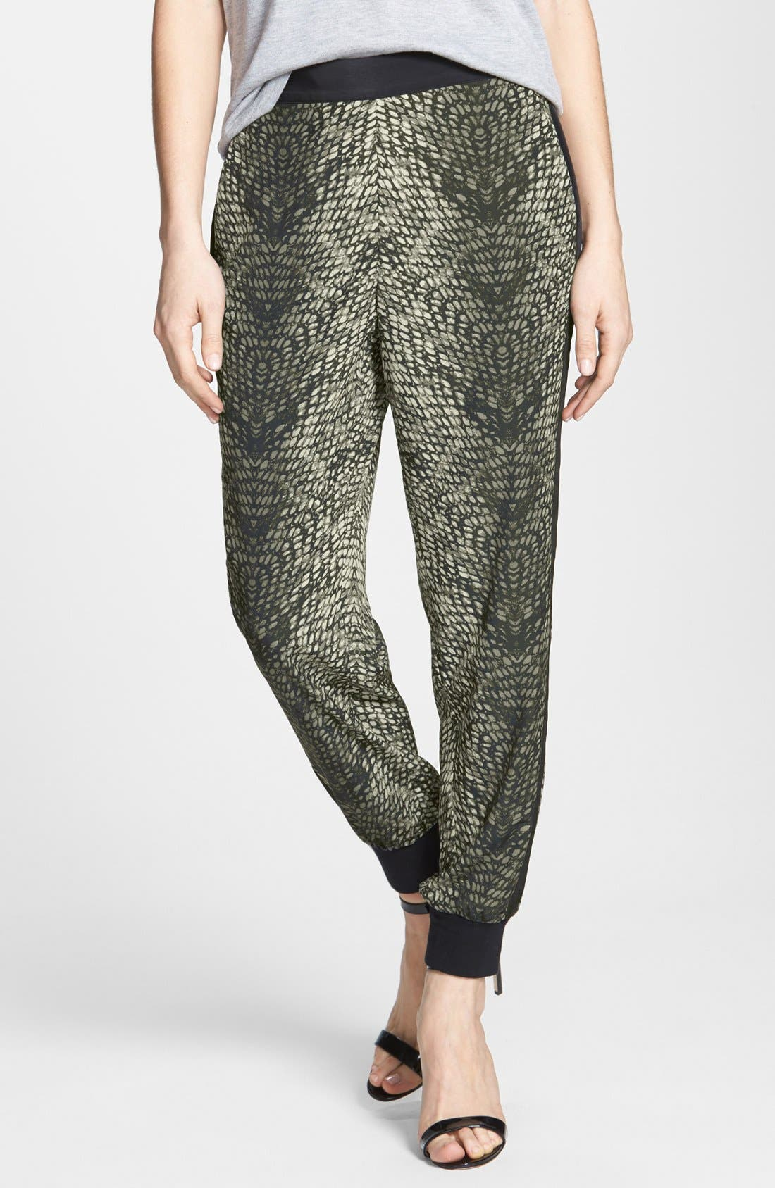 Alternate Image 1 Selected - Trouvé Tux Stripe Track Pants