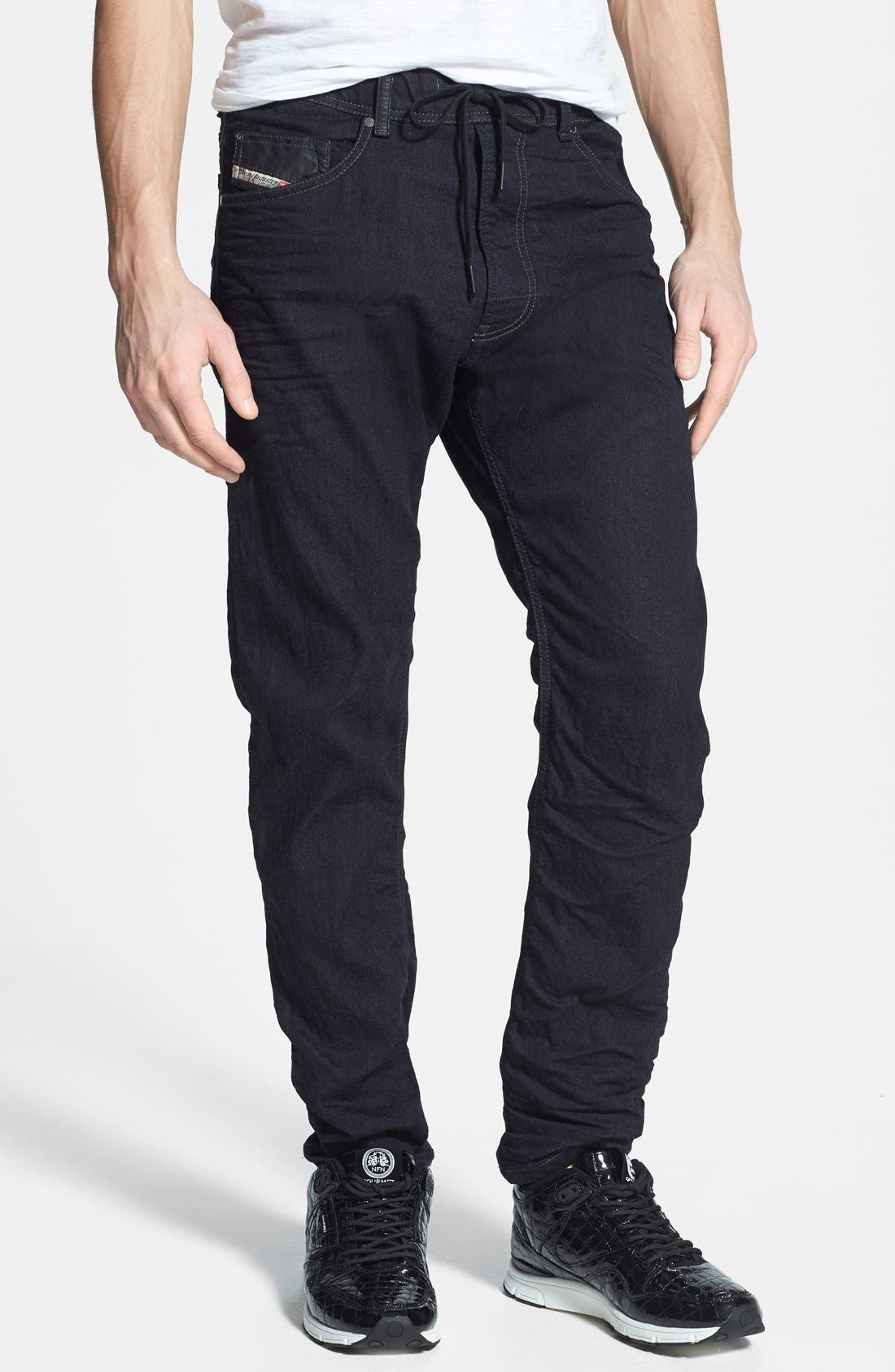 Alternate Image 1 Selected - DIESEL® 'Narrot Jogg' Slim Fit Jeans (600V)