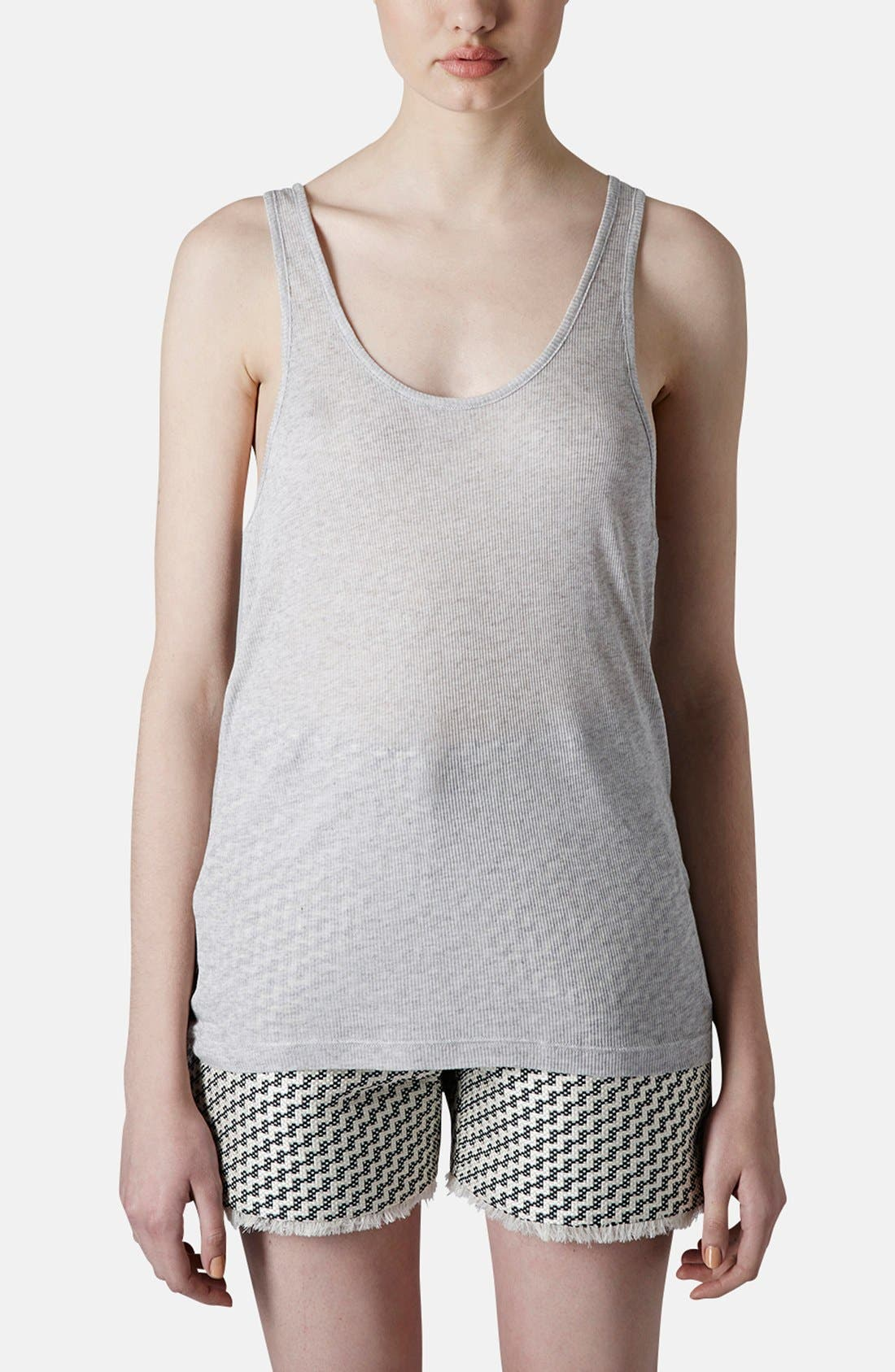 Main Image - Topshop Boutique Skinny Tank