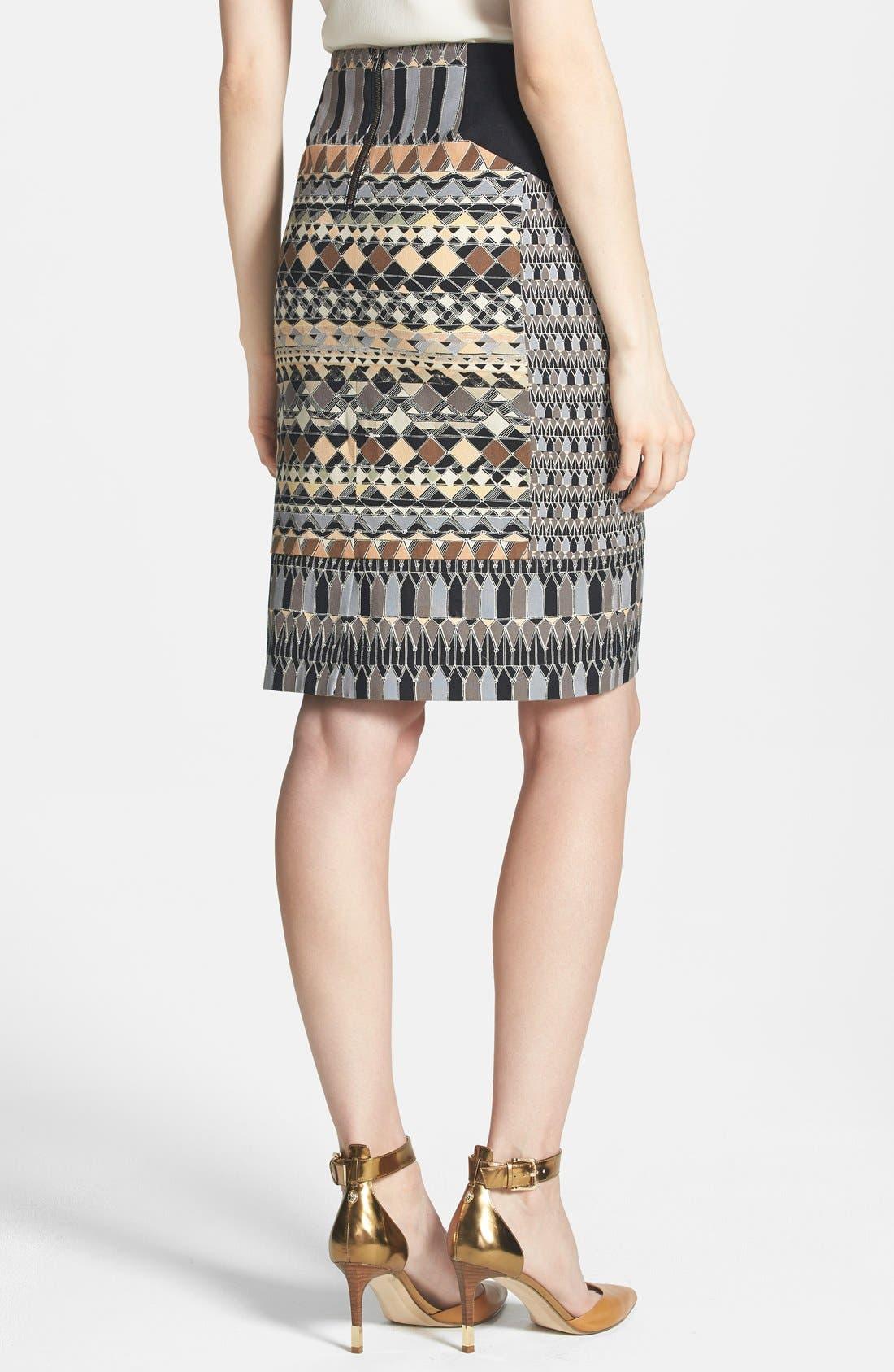 Alternate Image 2  - NIC+ZOE 'Radiant Wink' Pencil Skirt