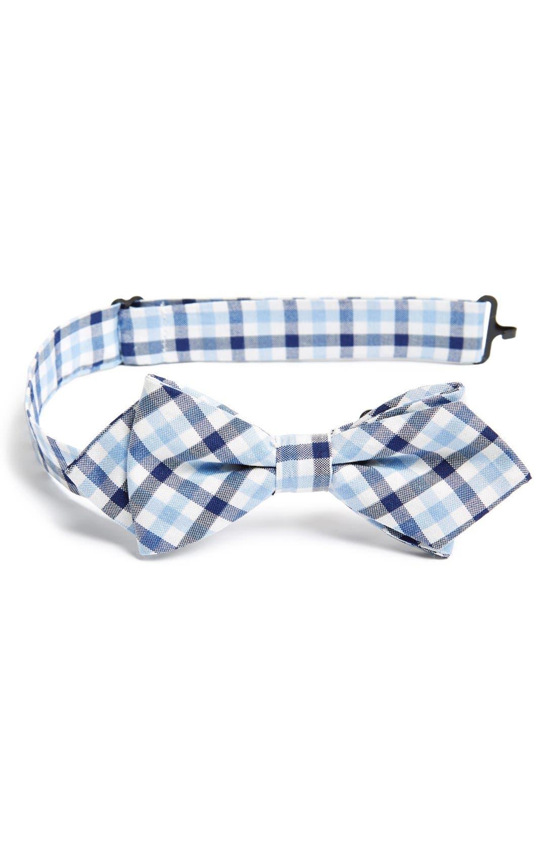 Main Image - Nordstrom Cotton Blend Bow Tie (Big Boys)