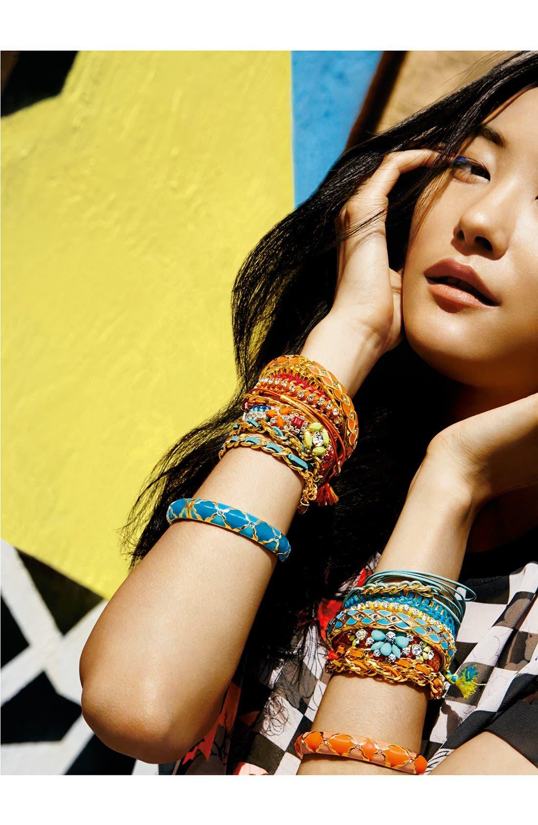 Alternate Image 3  - Cara Crystal & Chain Friendship Bracelet