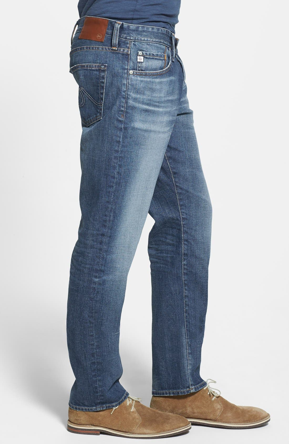 Alternate Image 3  - AG 'Graduate' Tailored Fit Straight Leg Jeans (13 Years Launch)