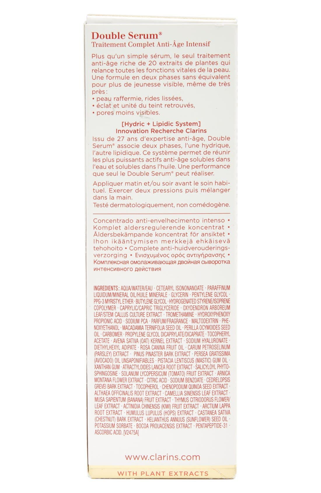 Alternate Image 2  - Clarins 'Double Serum®' Complete Age Control Concentrate