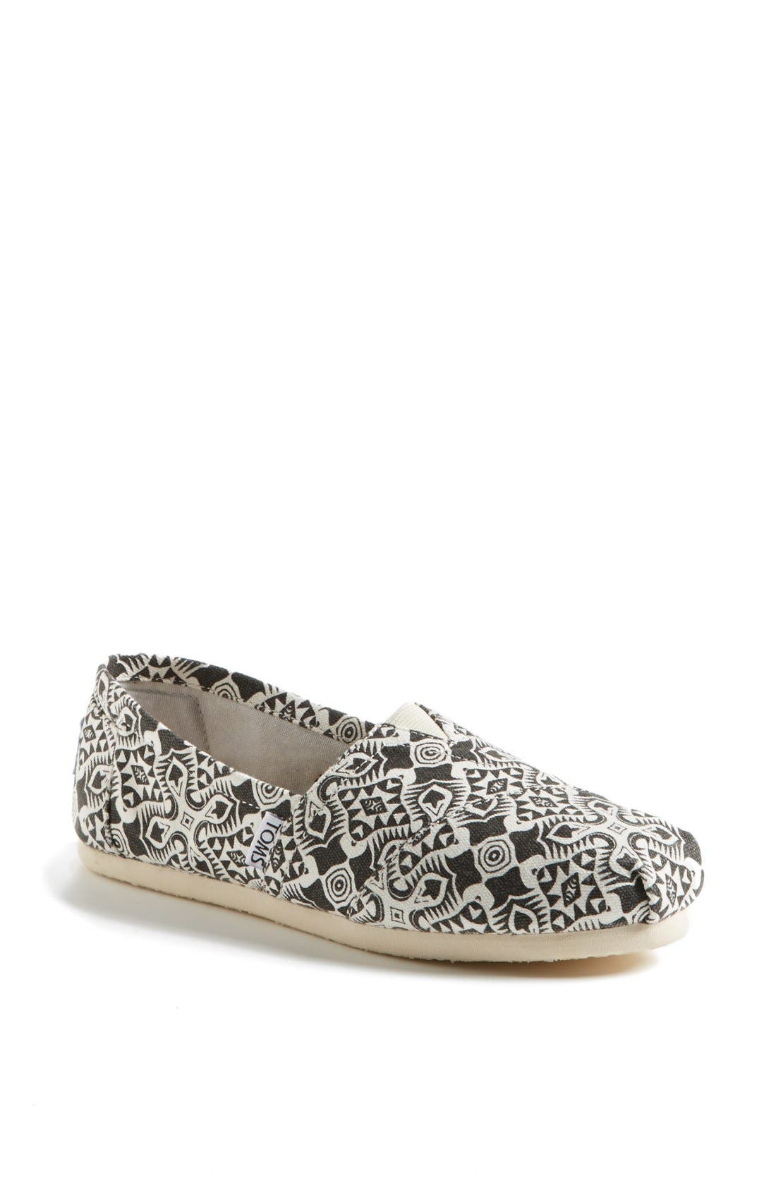 Alternate Image 1 Selected - TOMS 'Classic - Kaleidoscope' Slip-On (Women)