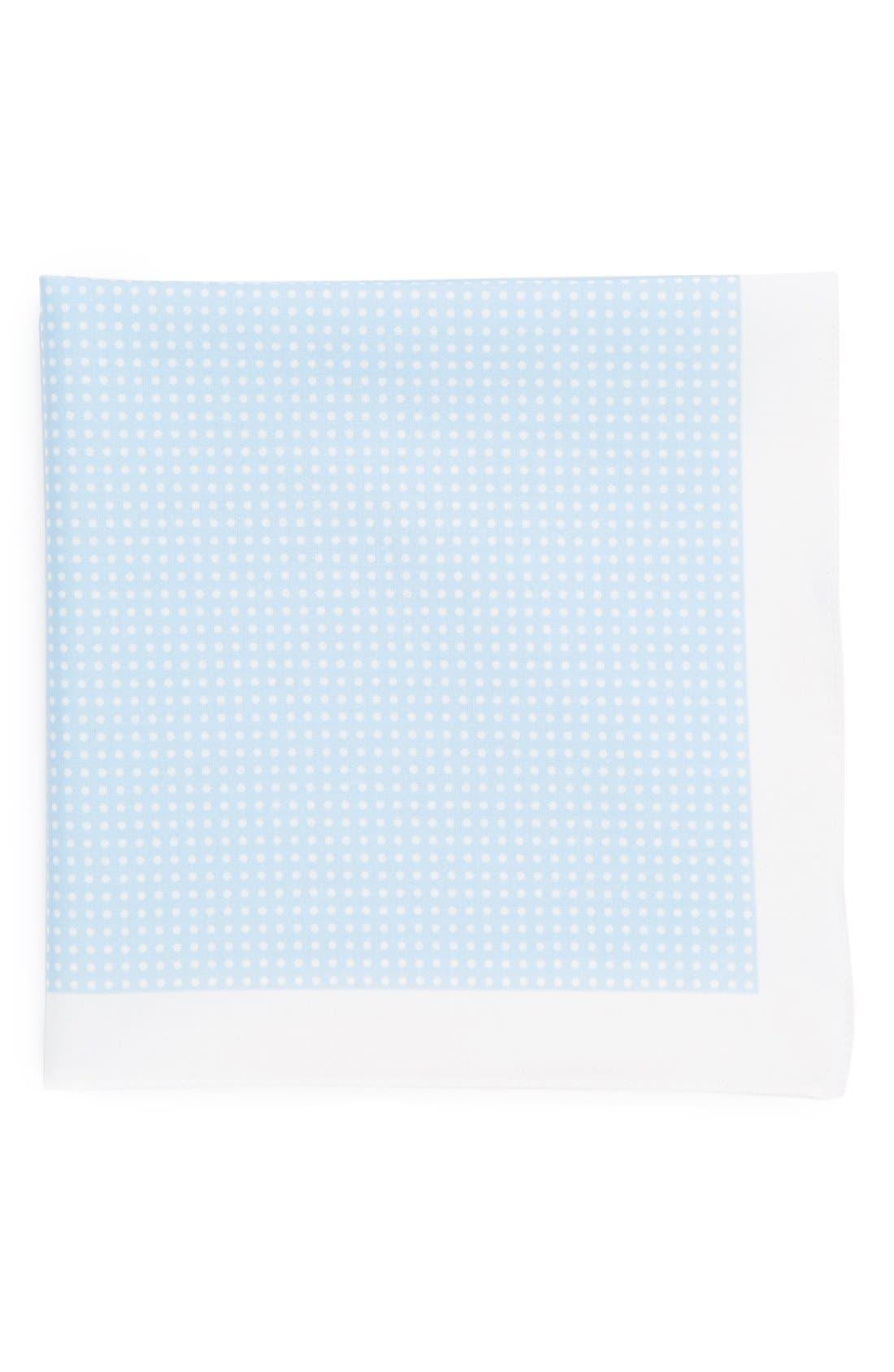 Alternate Image 1 Selected - BOSS HUGO BOSS Cotton Pocket Square