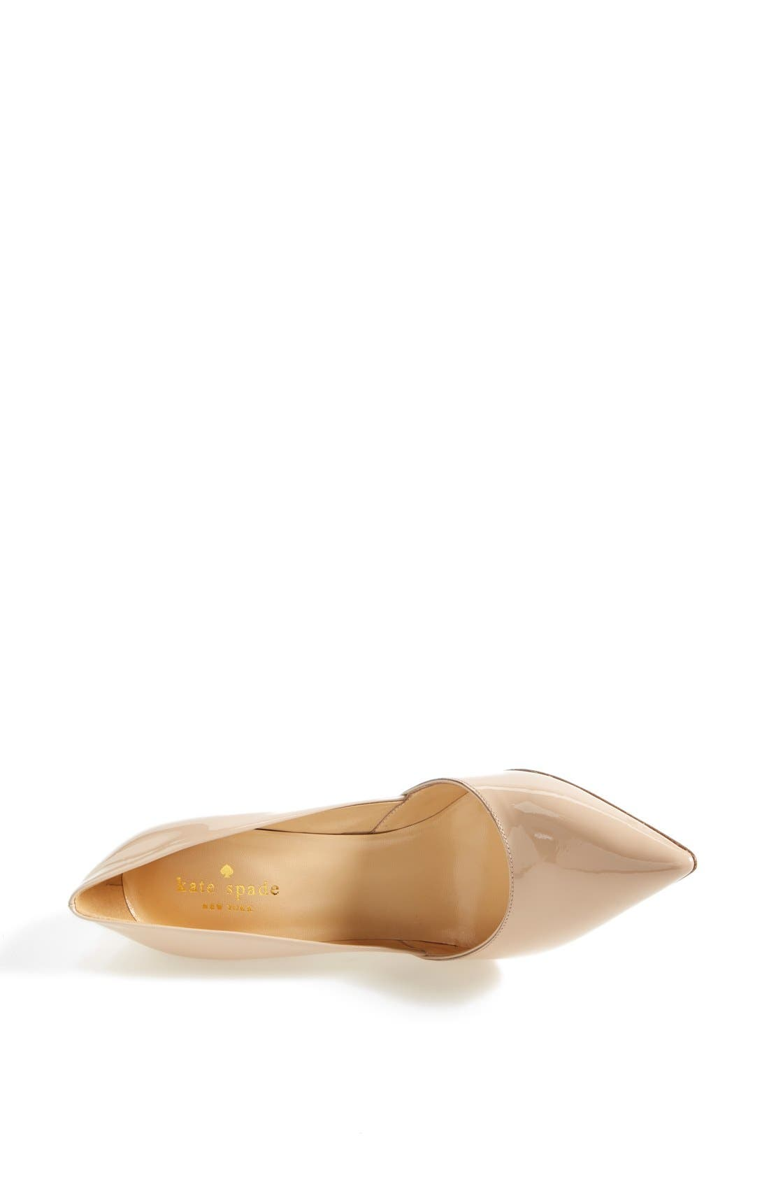 Alternate Image 4  - kate spade new york 'lottie' pump (Women)