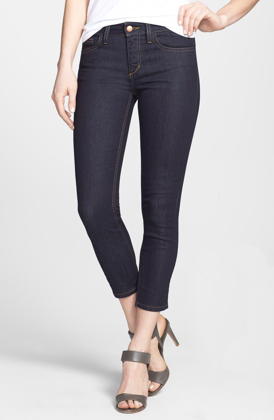 Alternate Image 1 Selected - Joe's Crop Skinny Jeans (Ellie)