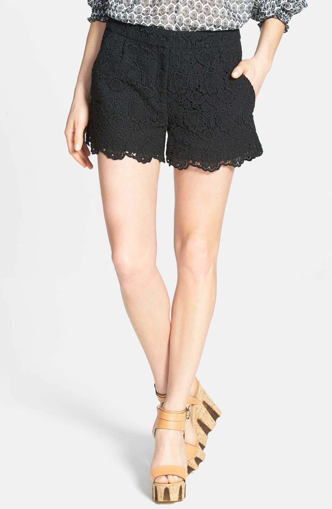 Alternate Image 1 Selected - Diane von Furstenberg 'Naples - Hippolyte' Lace Shorts